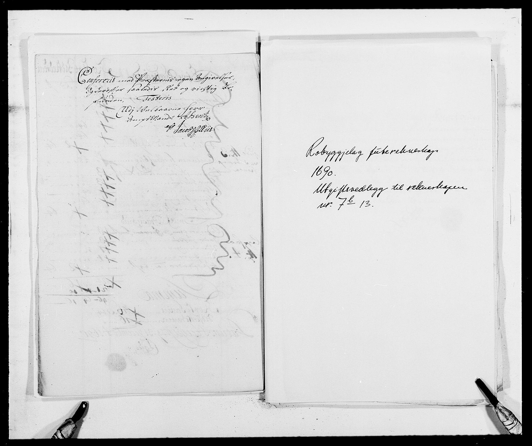 RA, Rentekammeret inntil 1814, Reviderte regnskaper, Fogderegnskap, R40/L2442: Fogderegnskap Råbyggelag, 1689-1690, s. 191
