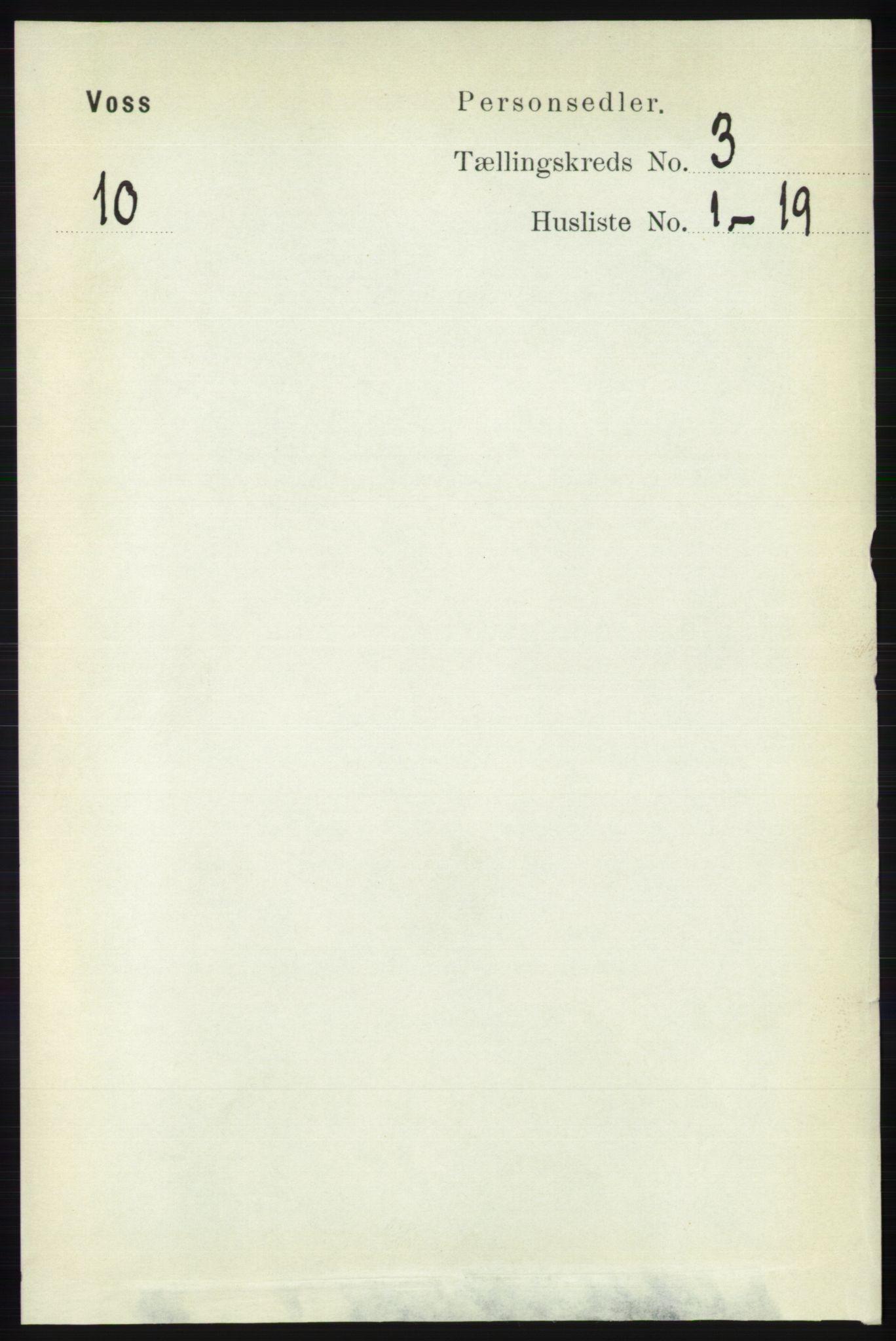 RA, Folketelling 1891 for 1235 Voss herred, 1891, s. 1173