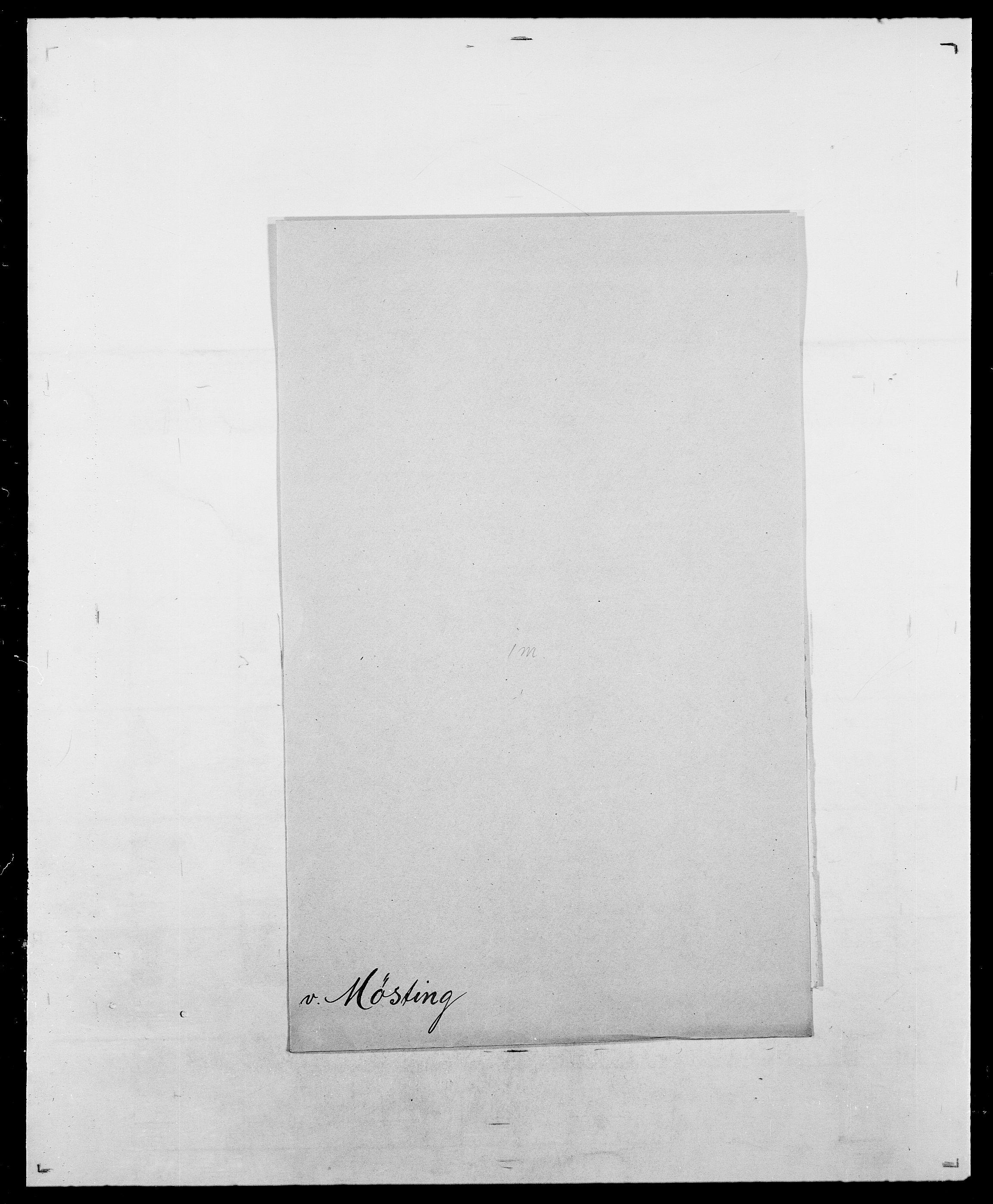 SAO, Delgobe, Charles Antoine - samling, D/Da/L0027: Morath - v. Møsting, s. 775