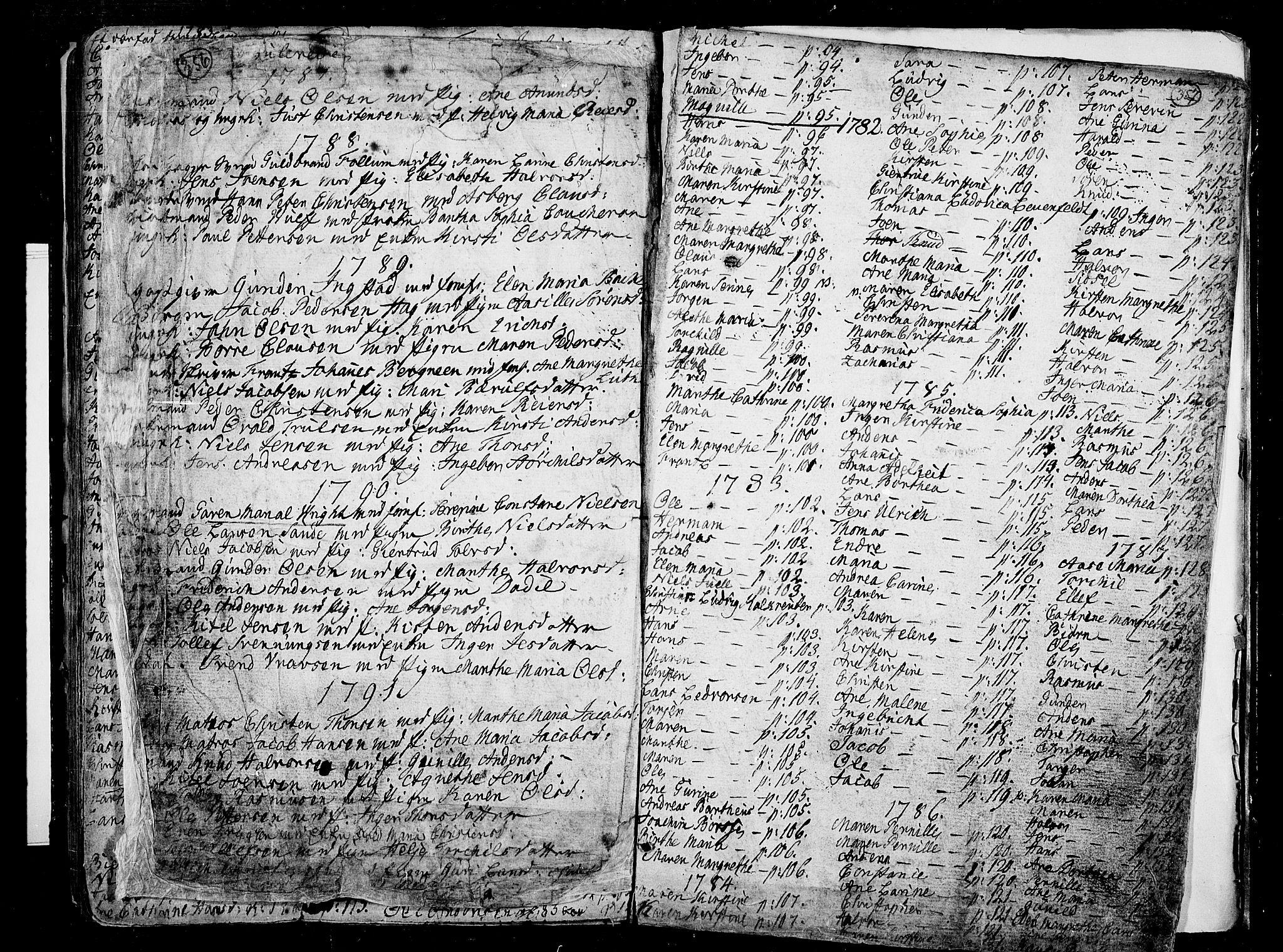 SAKO, Porsgrunn kirkebøker , F/Fa/L0002: Ministerialbok nr. 2, 1764-1814, s. 356-357