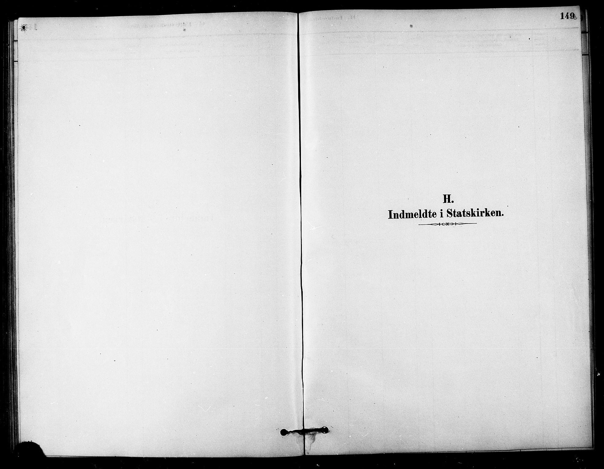 SAT, Ministerialprotokoller, klokkerbøker og fødselsregistre - Sør-Trøndelag, 656/L0692: Ministerialbok nr. 656A01, 1879-1893, s. 149
