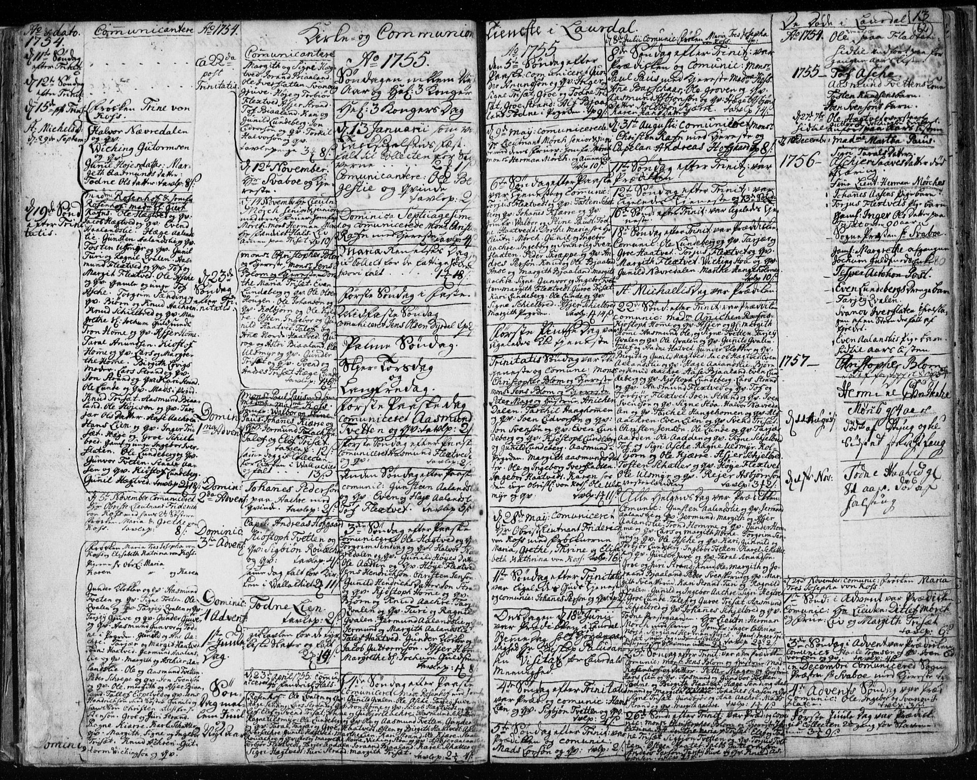SAKO, Lårdal kirkebøker, F/Fa/L0003: Ministerialbok nr. I 3, 1754-1790, s. 62