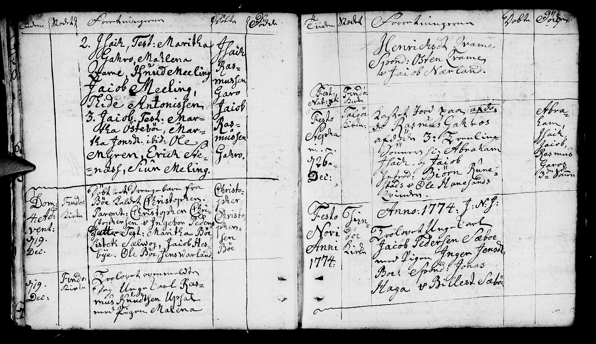 SAST, Finnøy sokneprestkontor, H/Ha/Haa/L0005: Ministerialbok nr. A 5, 1773-1816, s. 9