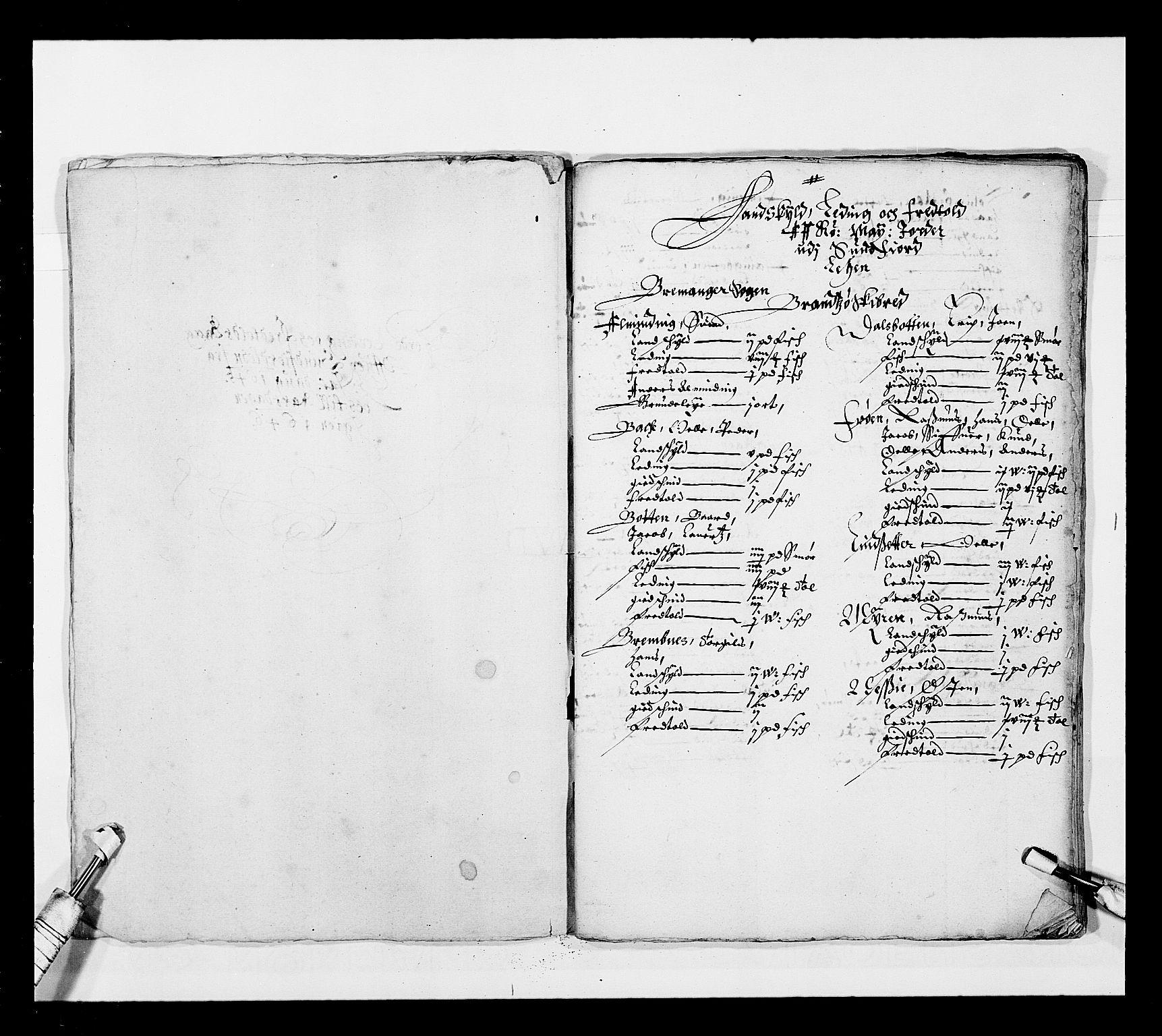 RA, Stattholderembetet 1572-1771, Ek/L0025: Jordebøker 1633-1658:, 1645-1646, s. 150