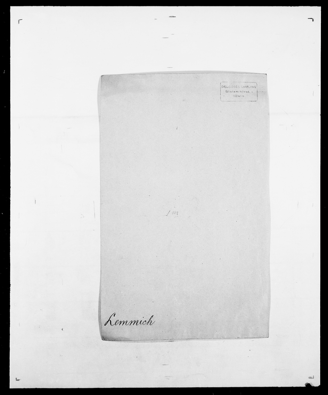 SAO, Delgobe, Charles Antoine - samling, D/Da/L0023: Lau - Lirvyn, s. 188