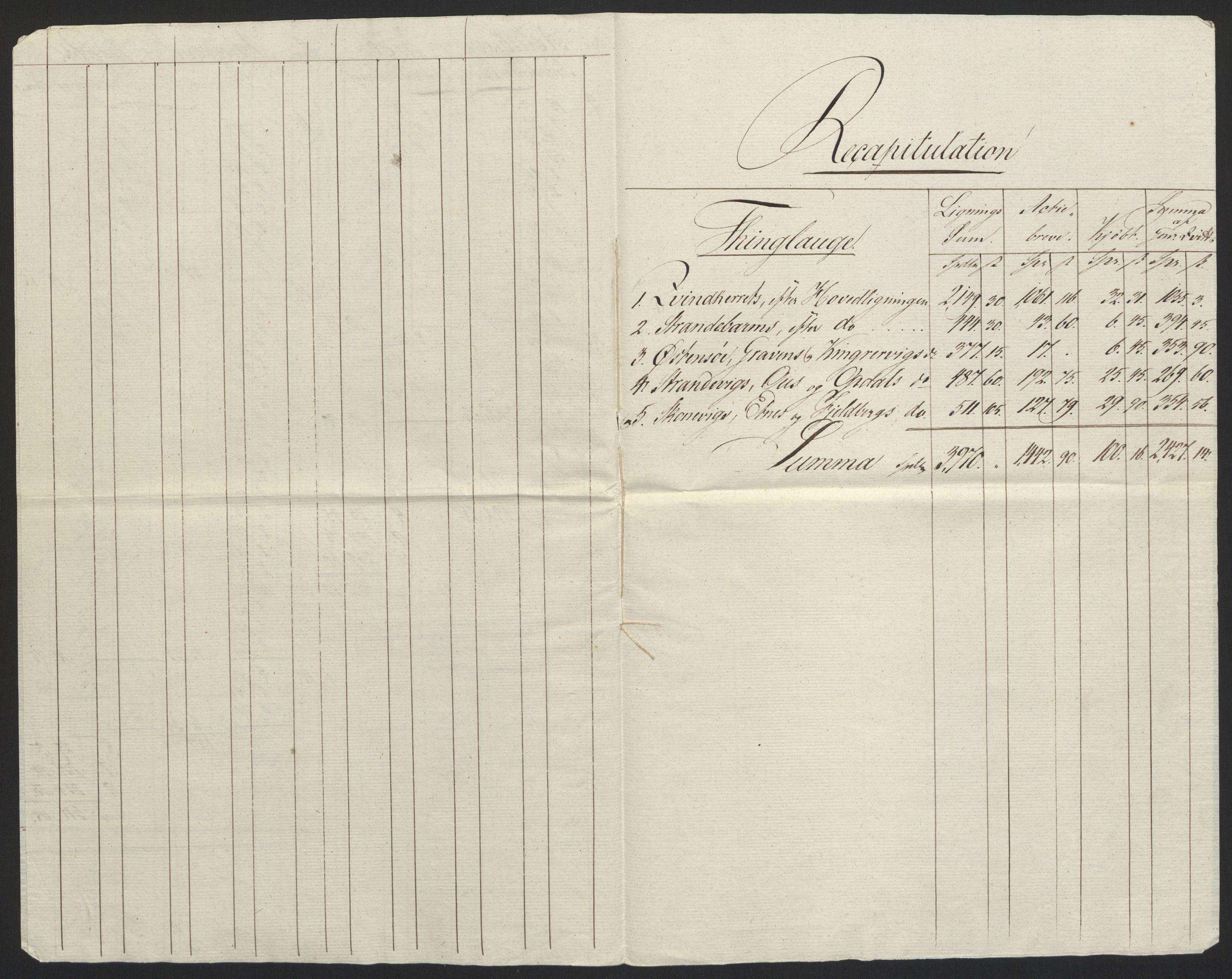 NOBA, Norges Bank/Sølvskatten 1816*, 1816-1825, s. 4