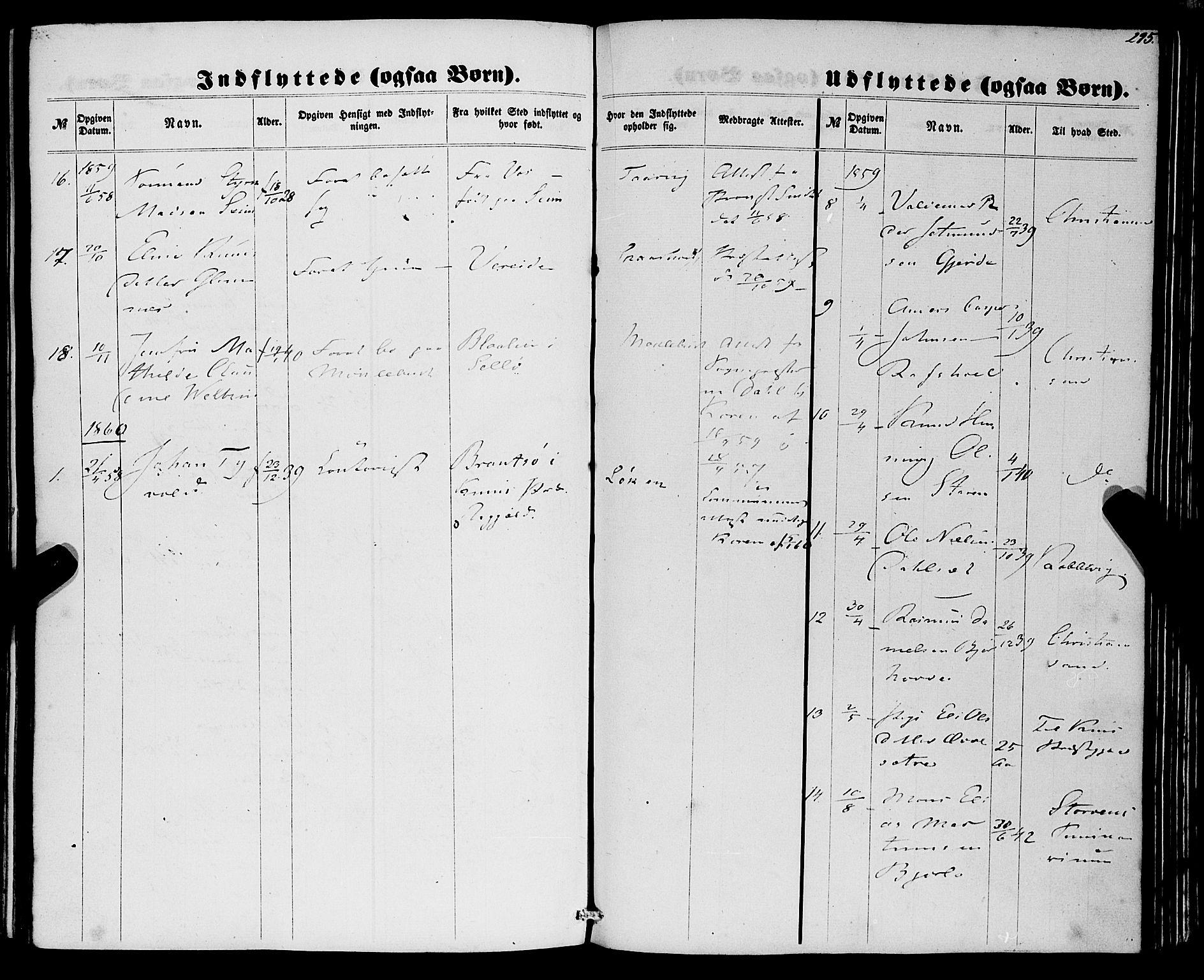 SAB, Eid Sokneprestembete, H/Haa: Ministerialbok nr. A 8, 1858-1860, s. 295