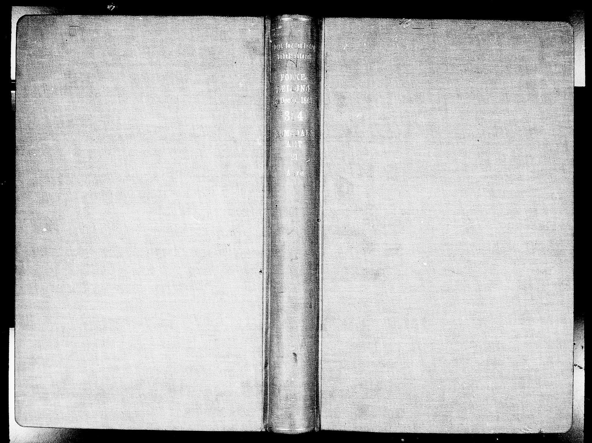 RA, Folketelling 1865 for 1569P Aure prestegjeld, 1865, s. 2