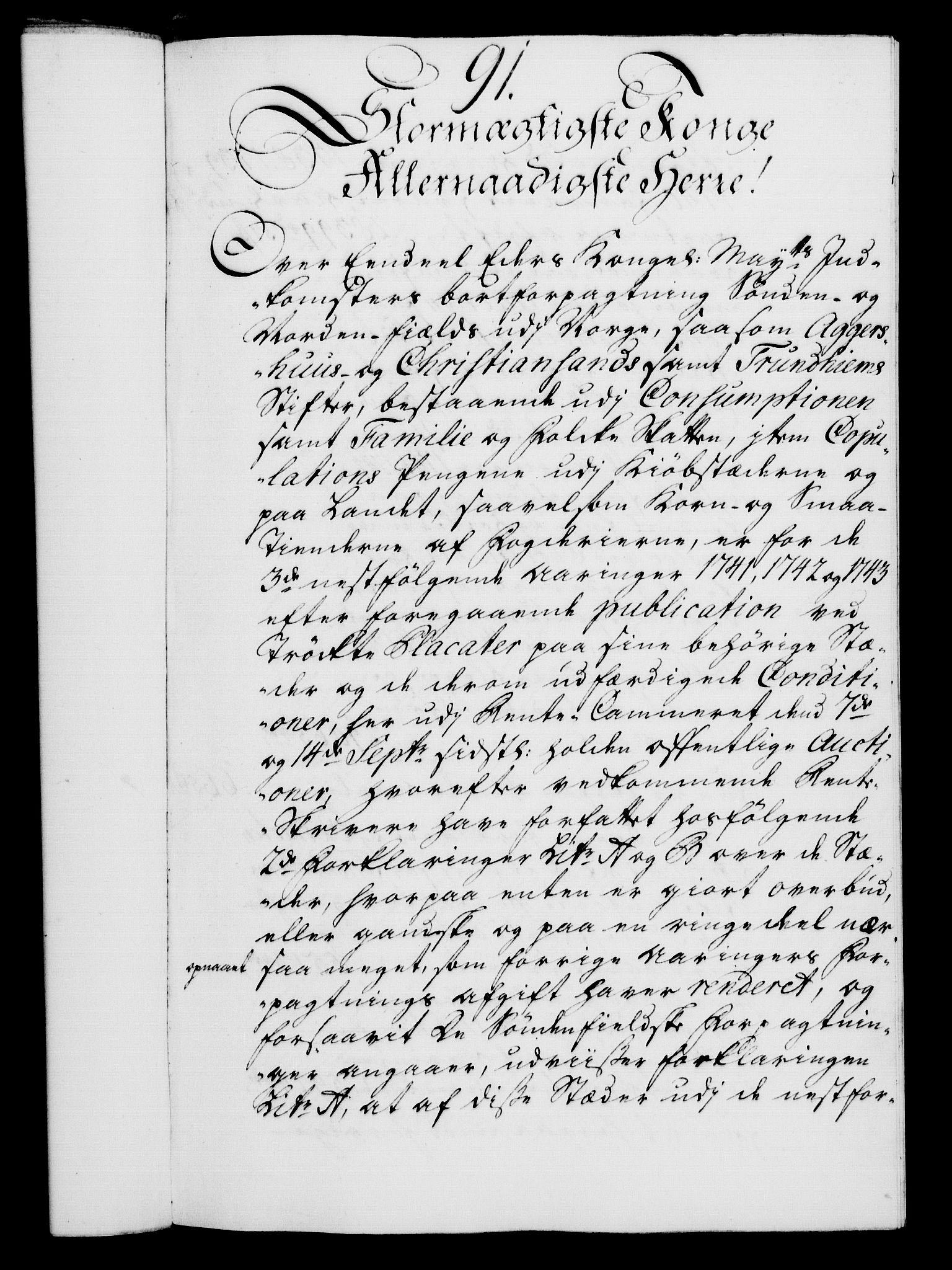RA, Rentekammeret, Kammerkanselliet, G/Gf/Gfa/L0023: Norsk relasjons- og resolusjonsprotokoll (merket RK 52.23), 1740, s. 627