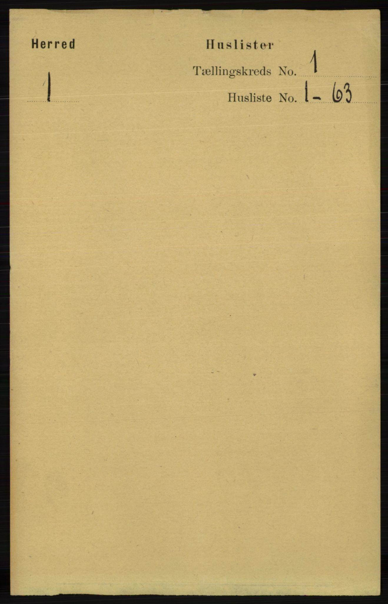 RA, Folketelling 1891 for 1039 Herad herred, 1891, s. 21