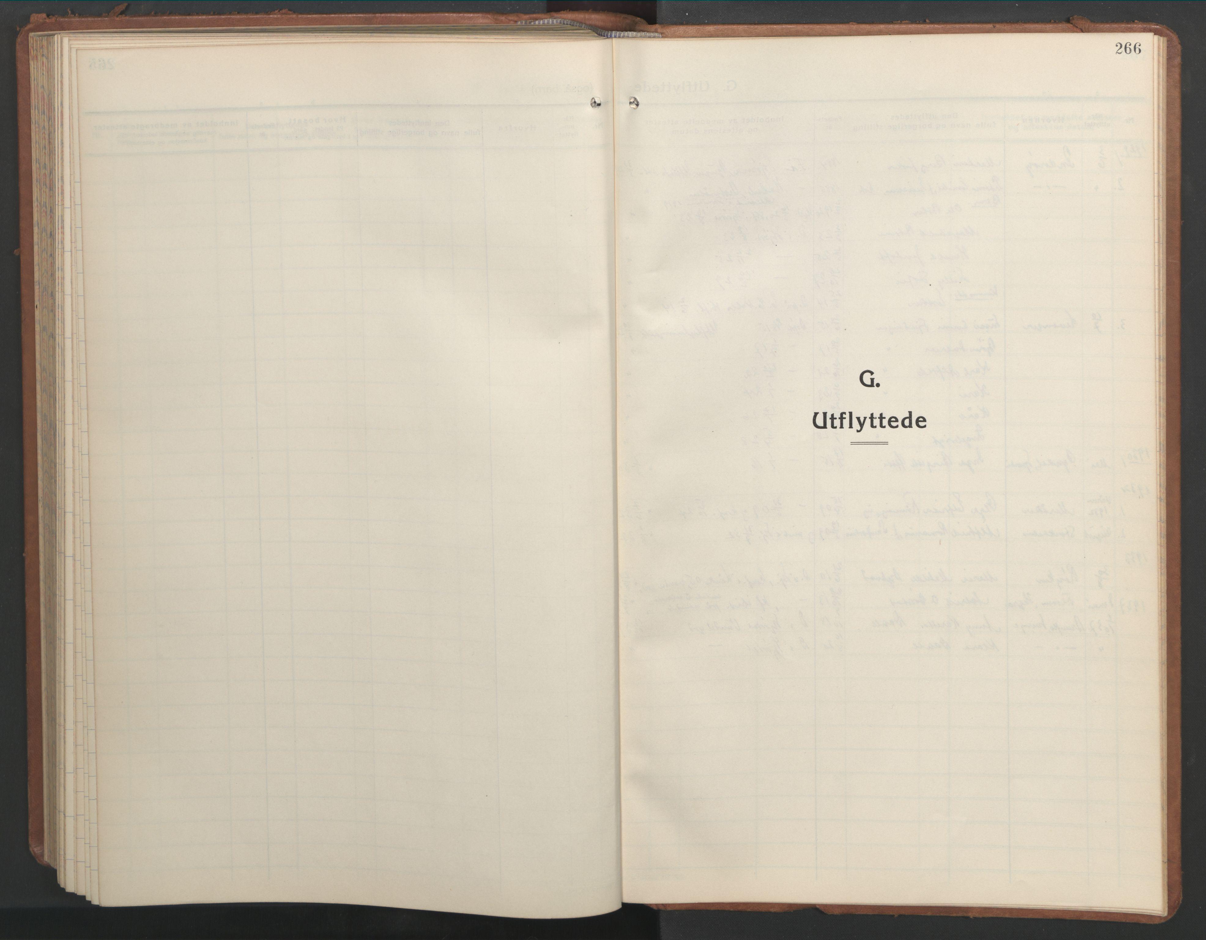 SAT, Ministerialprotokoller, klokkerbøker og fødselsregistre - Nord-Trøndelag, 709/L0089: Klokkerbok nr. 709C03, 1935-1948, s. 266