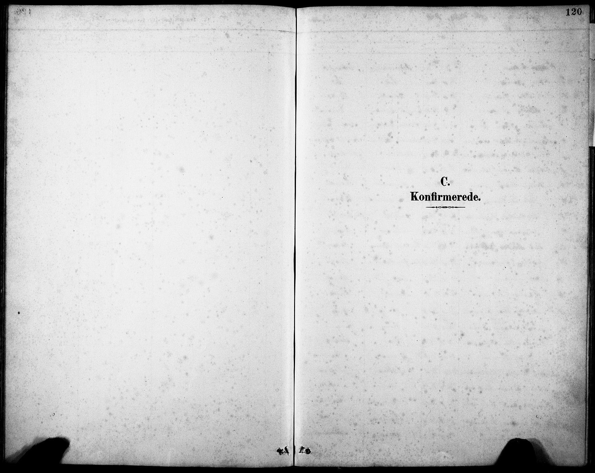 SAB, Askvoll sokneprestembete, H/Hab/Haba/L0003: Klokkerbok nr. A 3, 1886-1928, s. 120
