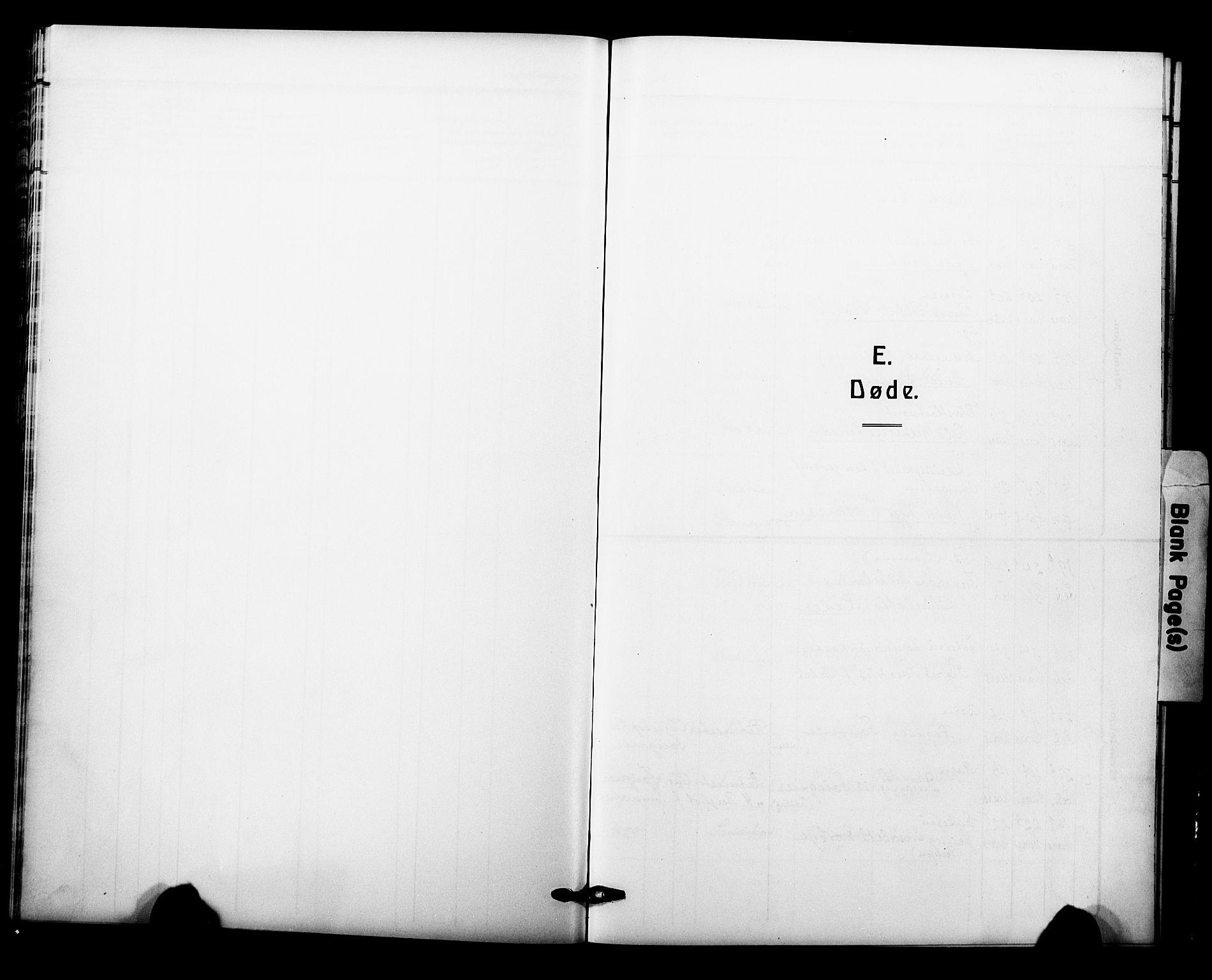 SAO, Garnisonsmenigheten Kirkebøker, F/Fa/L0015: Ministerialbok nr. 15, 1915-1921