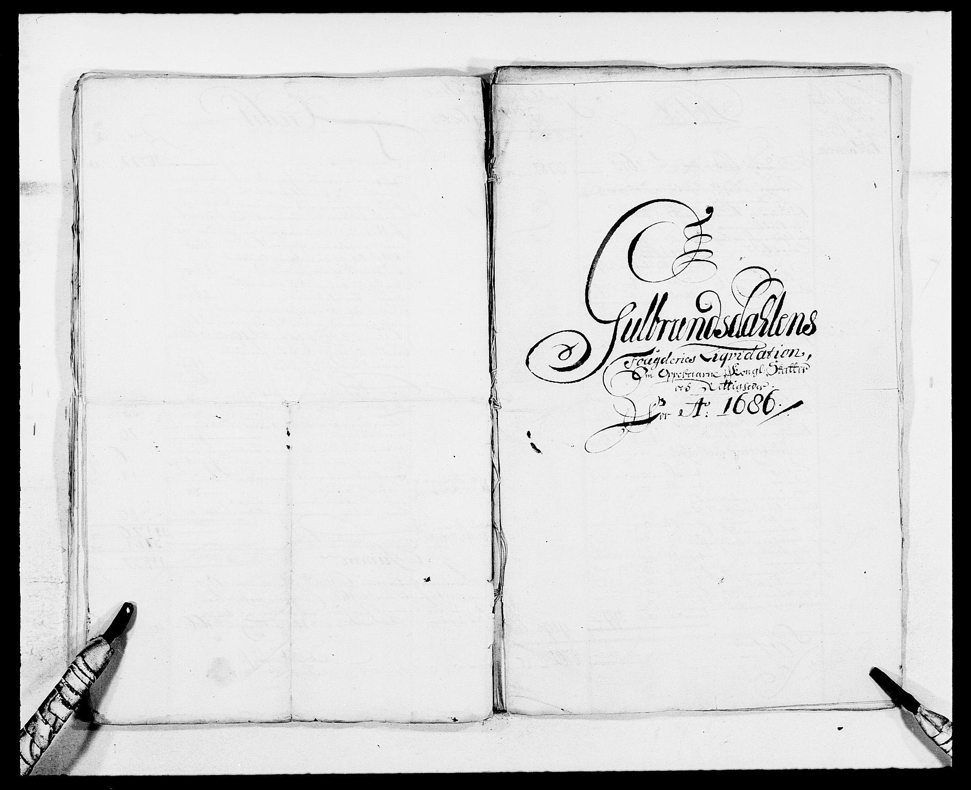 RA, Rentekammeret inntil 1814, Reviderte regnskaper, Fogderegnskap, R17/L1157: Fogderegnskap Gudbrandsdal, 1682-1689, s. 20