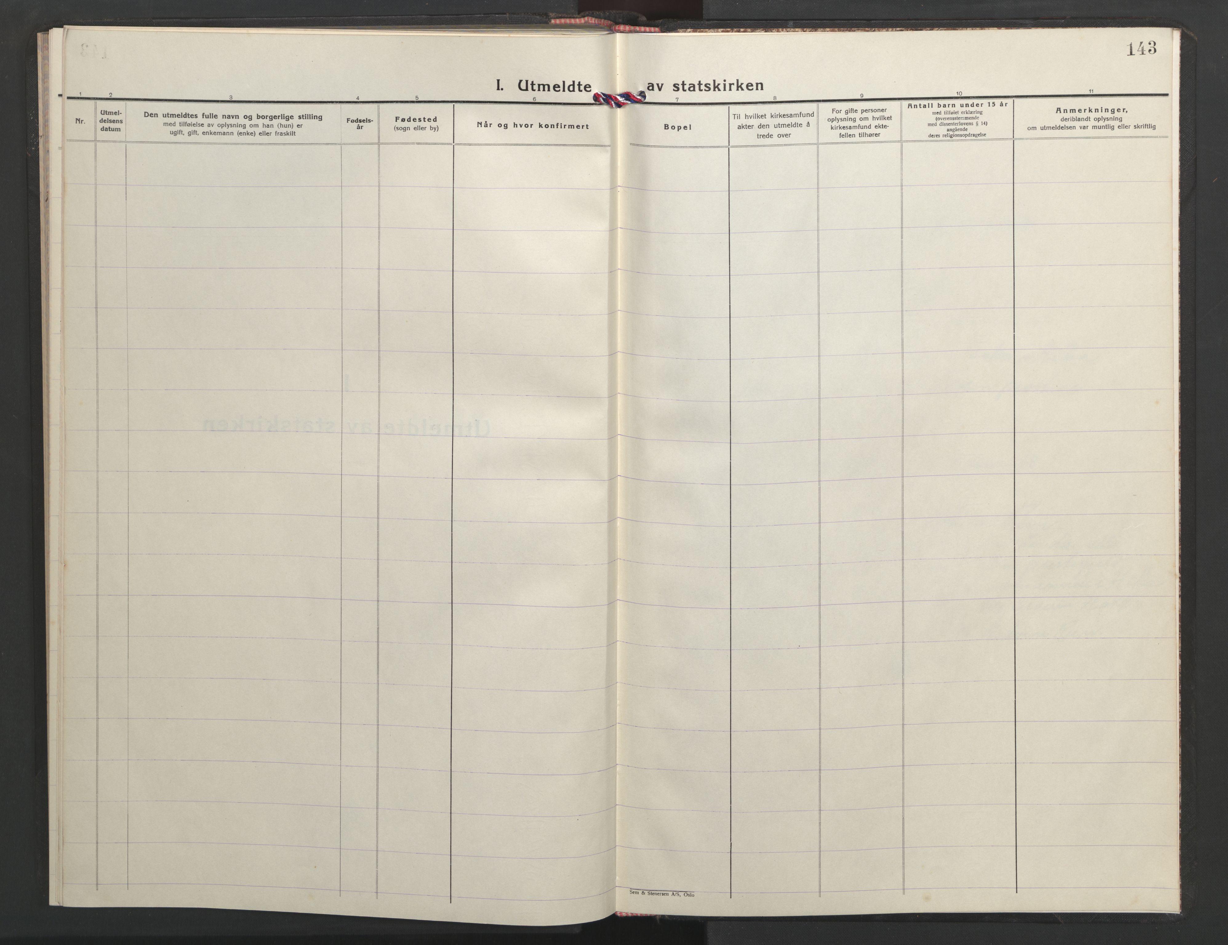 SAT, Ministerialprotokoller, klokkerbøker og fødselsregistre - Sør-Trøndelag, 635/L0556: Klokkerbok nr. 635C04, 1943-1945, s. 143