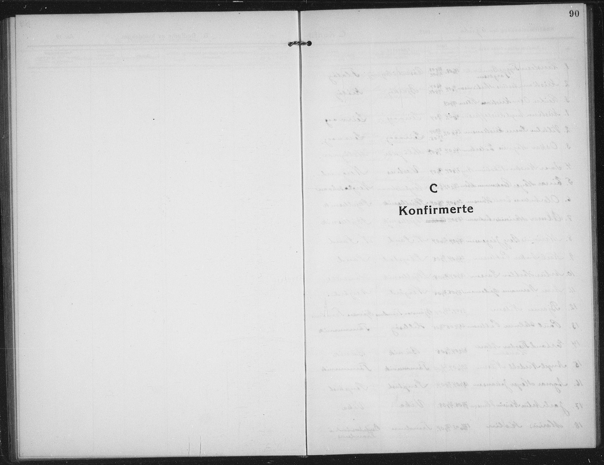 SATØ, Sand/Bjarkøy sokneprestkontor, I/Ia/Iab/L0005klokker: Klokkerbok nr. 5, 1919-1937, s. 90