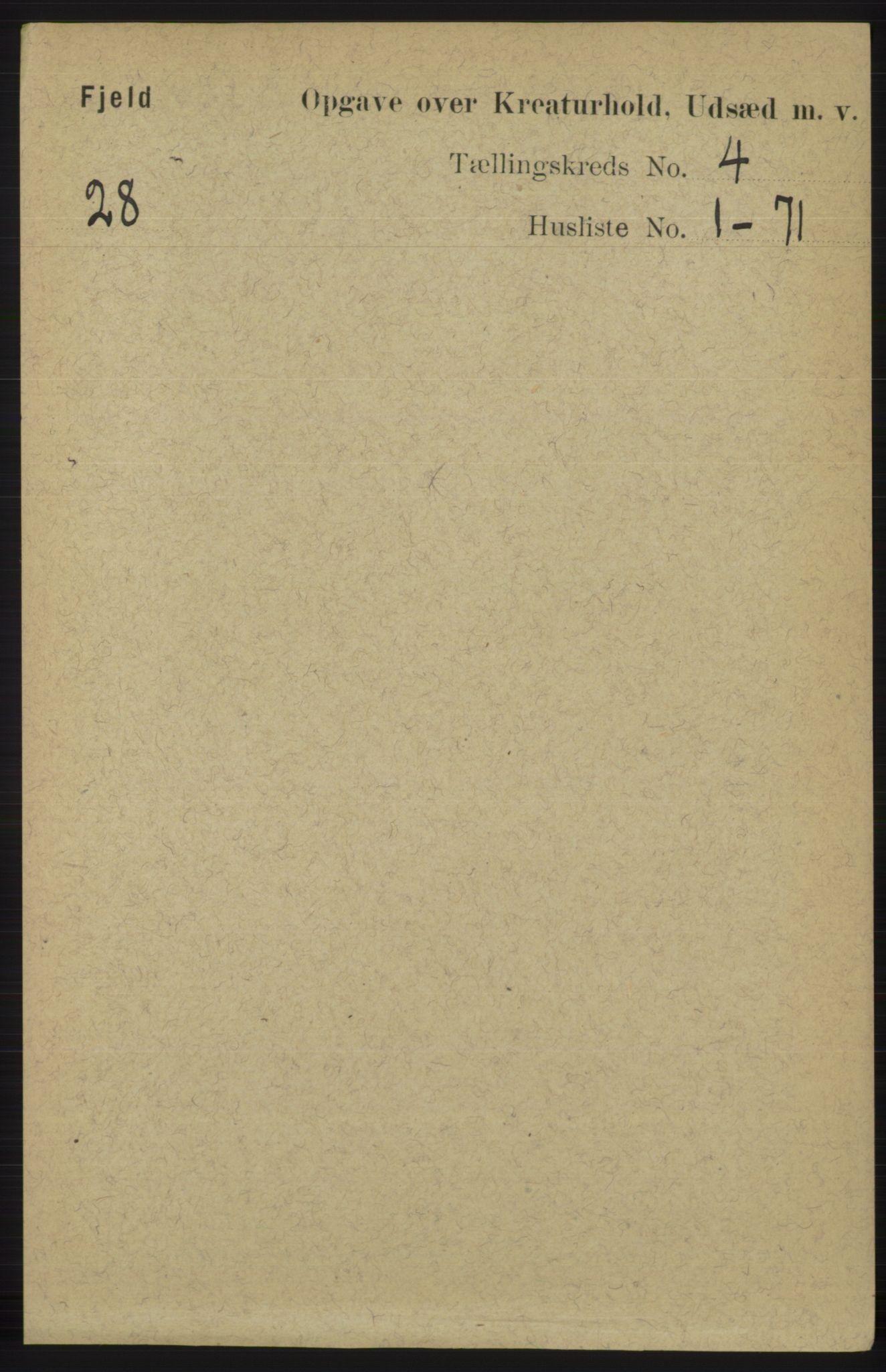 RA, Folketelling 1891 for 1246 Fjell herred, 1891, s. 4371