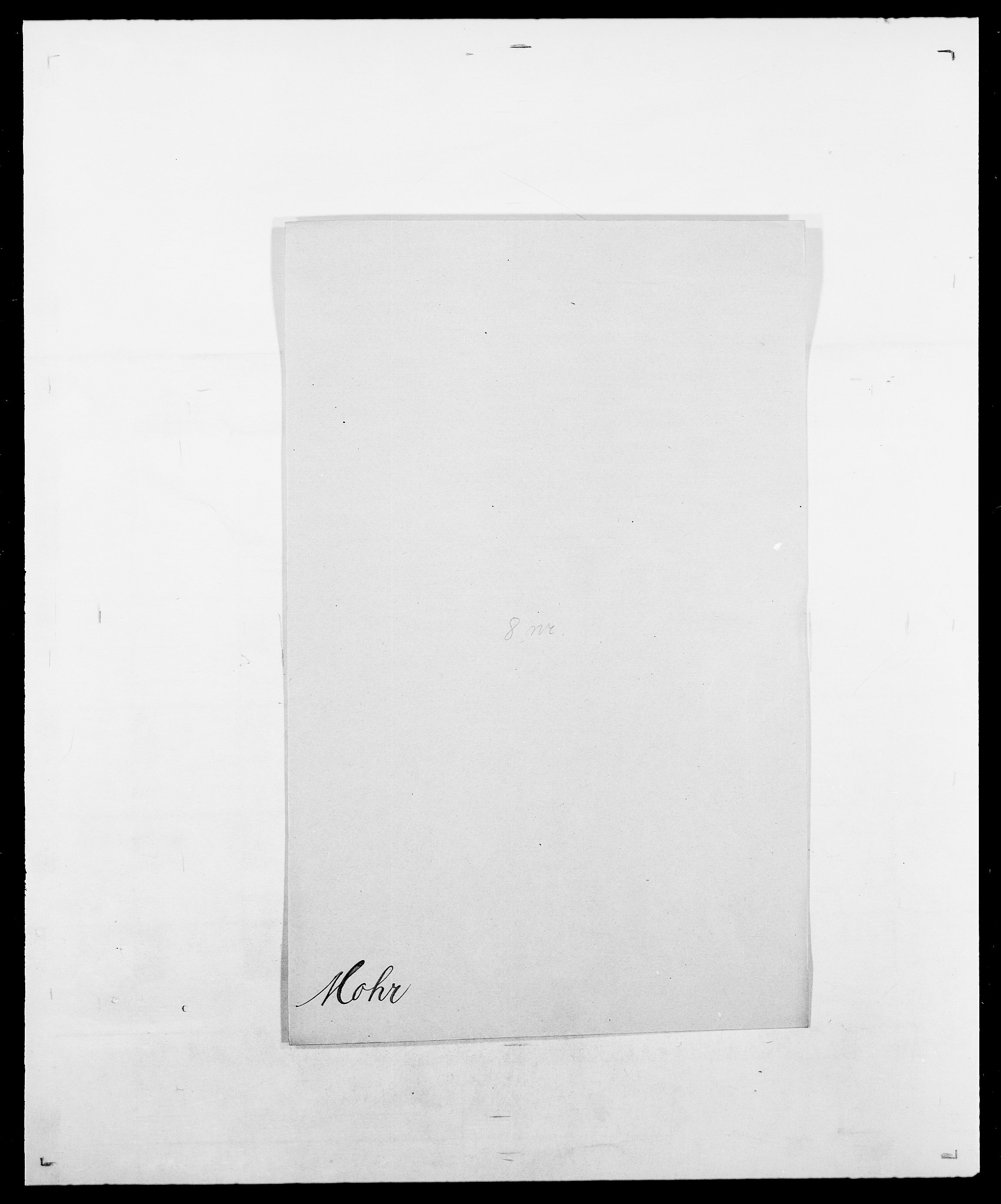 SAO, Delgobe, Charles Antoine - samling, D/Da/L0026: Mechelby - Montoppidan, s. 693