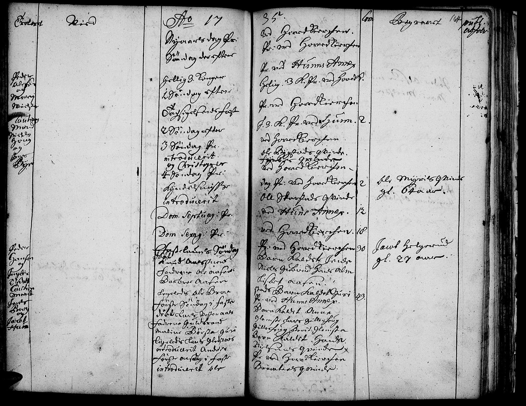 SAH, Vardal prestekontor, H/Ha/Haa/L0001: Ministerialbok nr. 1, 1706-1748, s. 164