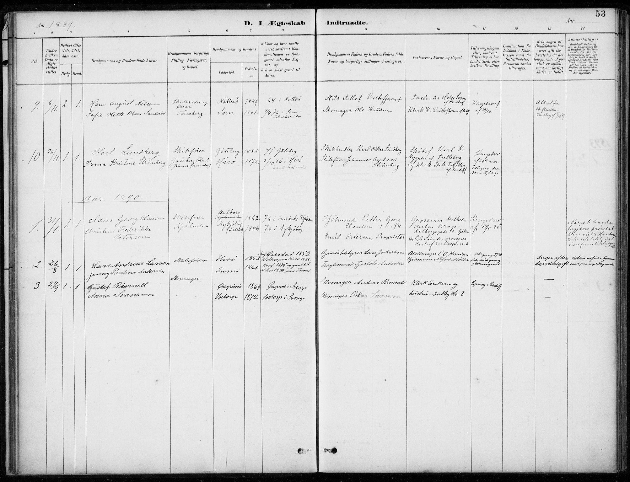 SAB, Den Norske Sjømannsmisjon i utlandet*, Ministerialbok nr. A 2, 1887-1932, s. 53