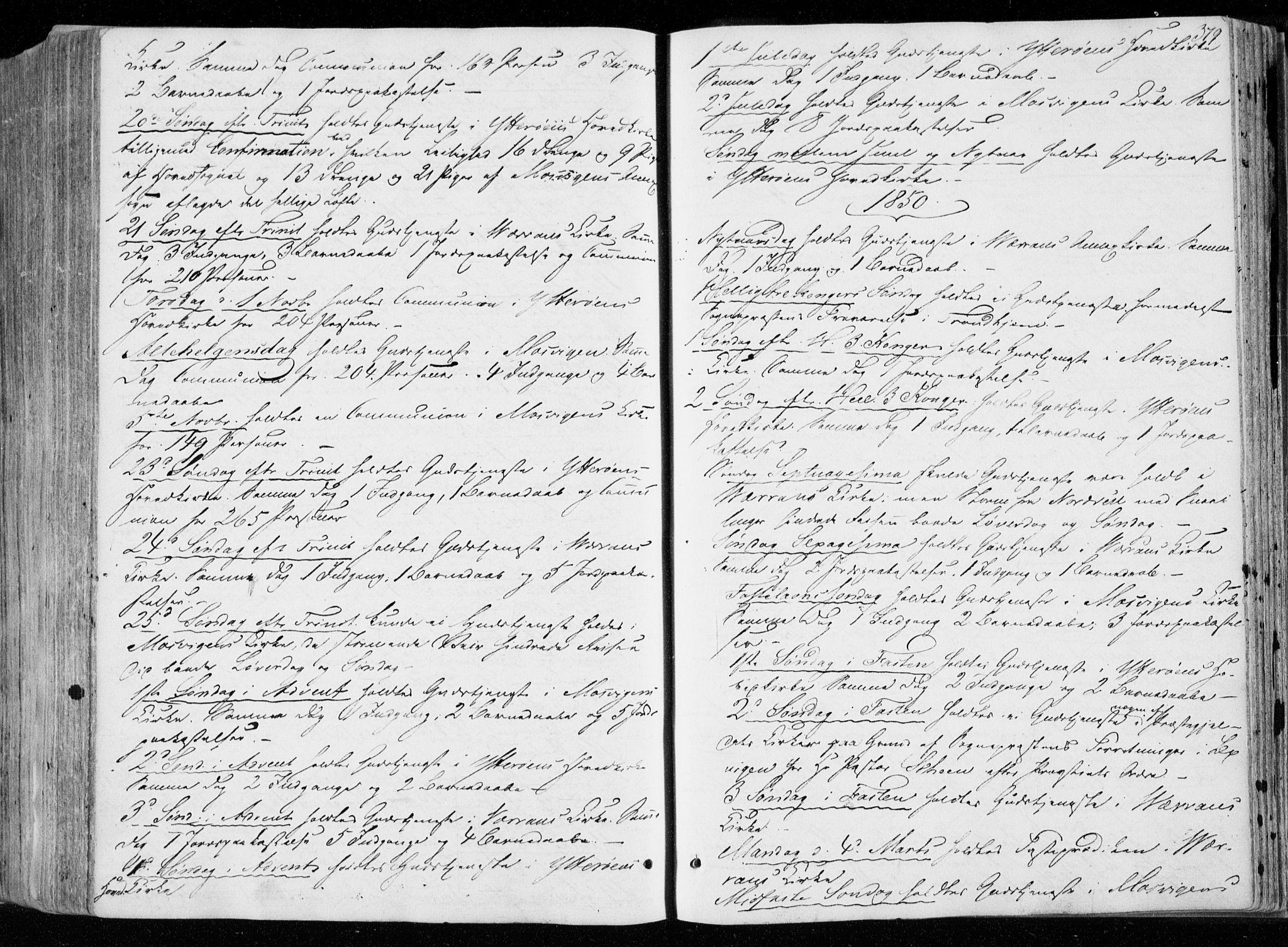 SAT, Ministerialprotokoller, klokkerbøker og fødselsregistre - Nord-Trøndelag, 722/L0218: Ministerialbok nr. 722A05, 1843-1868, s. 379