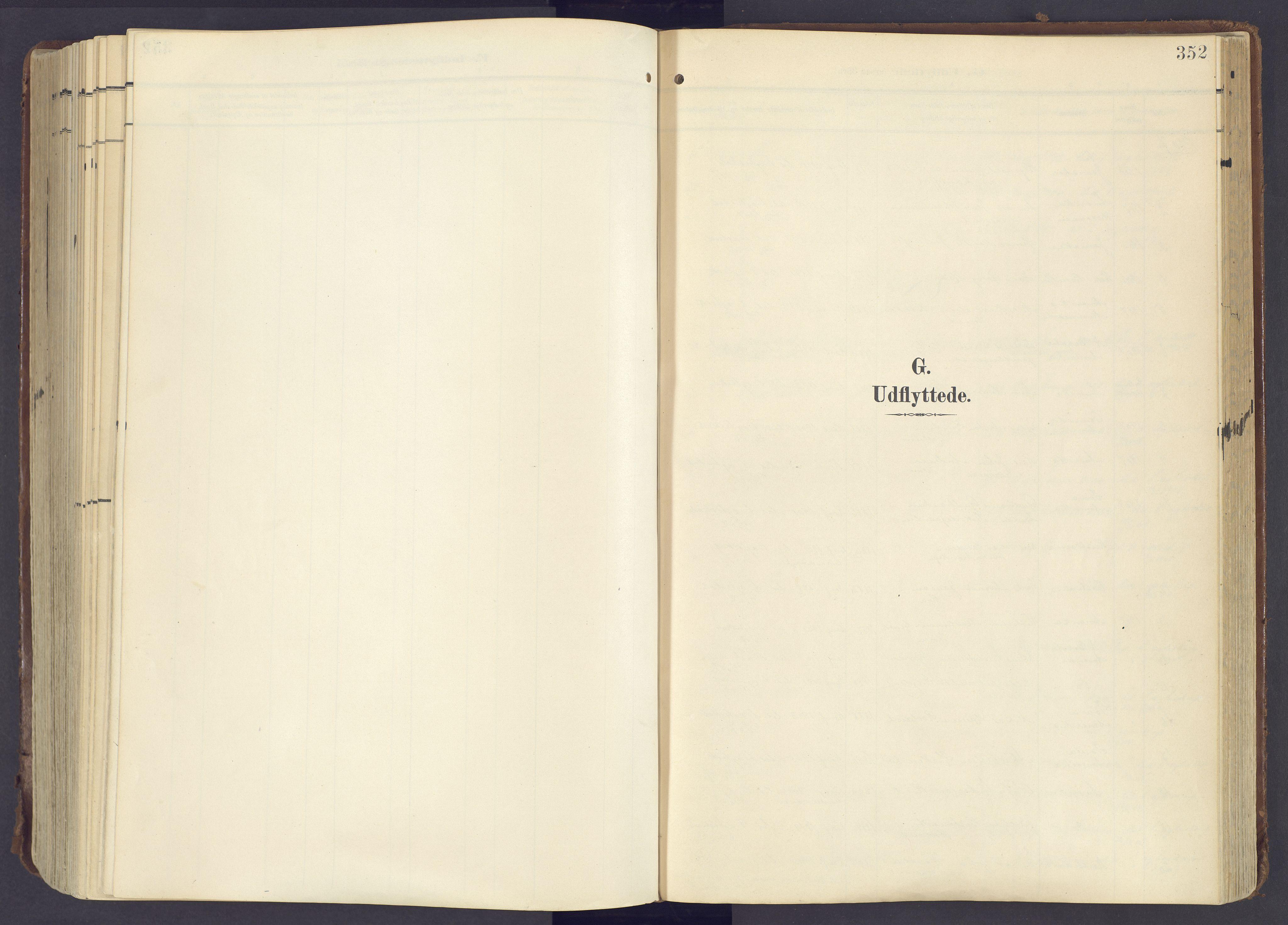 SAH, Lunner prestekontor, H/Ha/Haa/L0001: Ministerialbok nr. 1, 1907-1922, s. 352