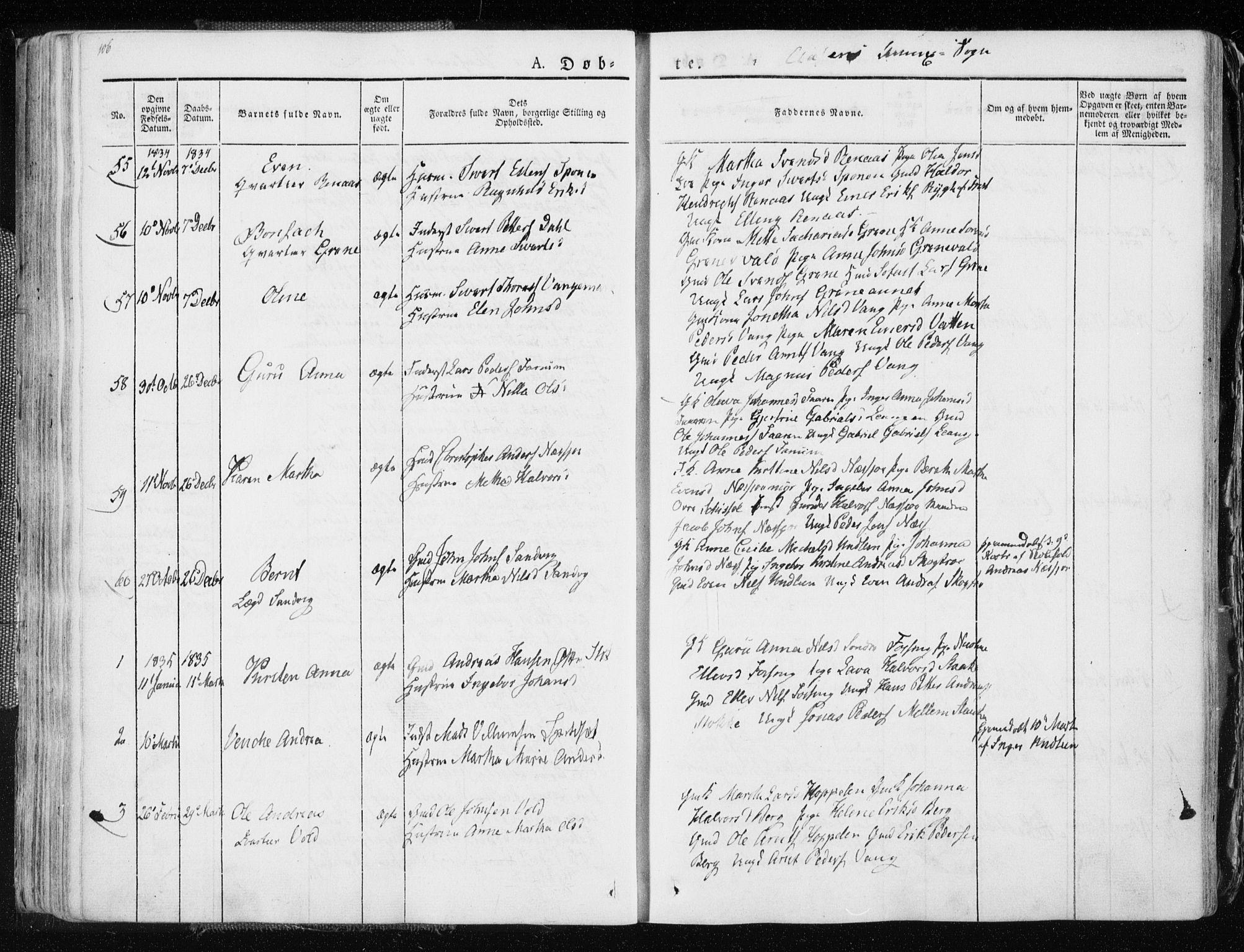 SAT, Ministerialprotokoller, klokkerbøker og fødselsregistre - Nord-Trøndelag, 713/L0114: Ministerialbok nr. 713A05, 1827-1839, s. 106