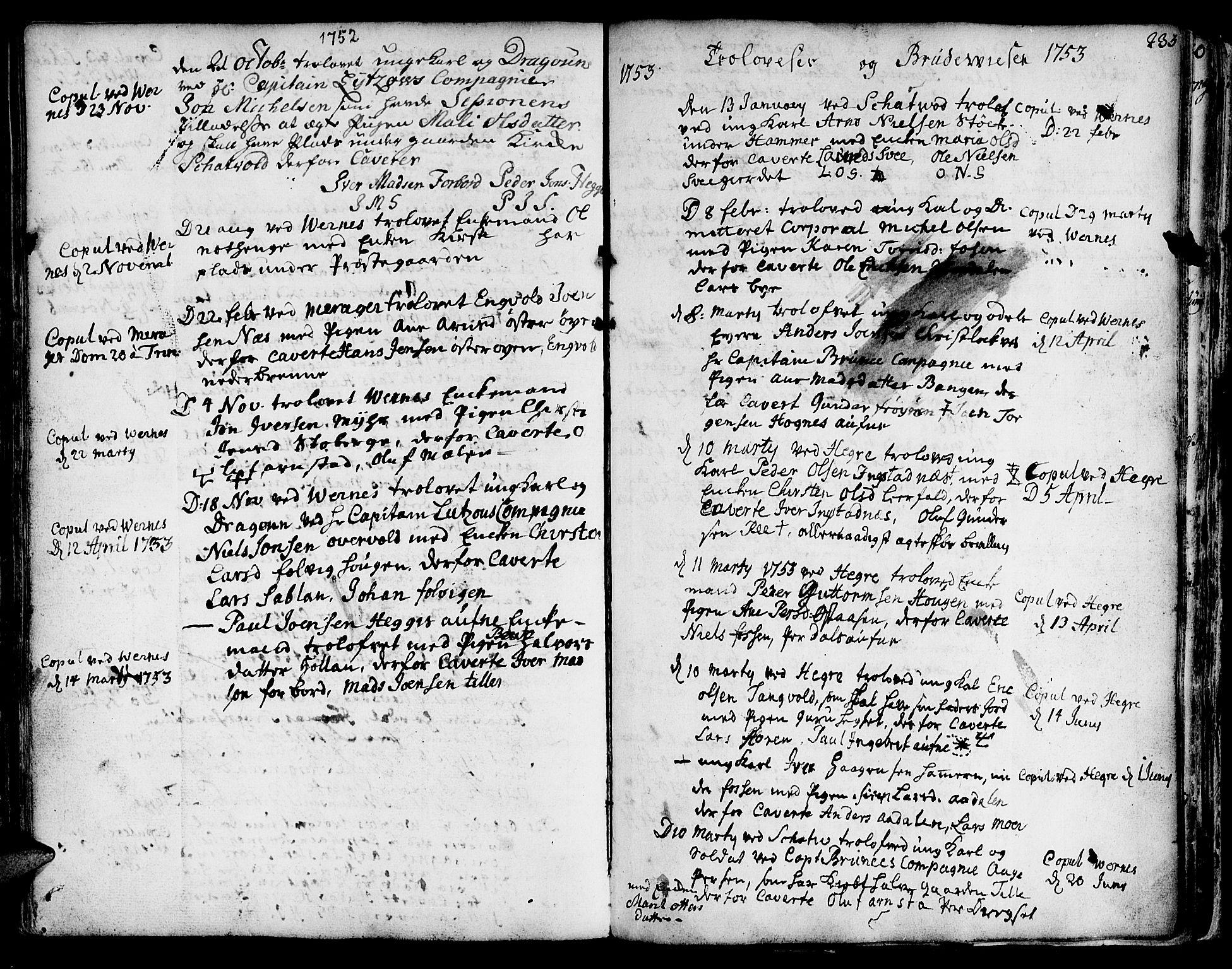 SAT, Ministerialprotokoller, klokkerbøker og fødselsregistre - Nord-Trøndelag, 709/L0056: Ministerialbok nr. 709A04, 1740-1756, s. 233