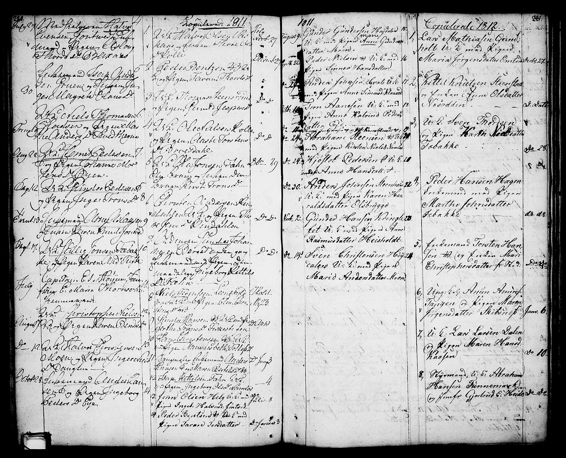 SAKO, Holla kirkebøker, F/Fa/L0002: Ministerialbok nr. 2, 1779-1814, s. 220-221