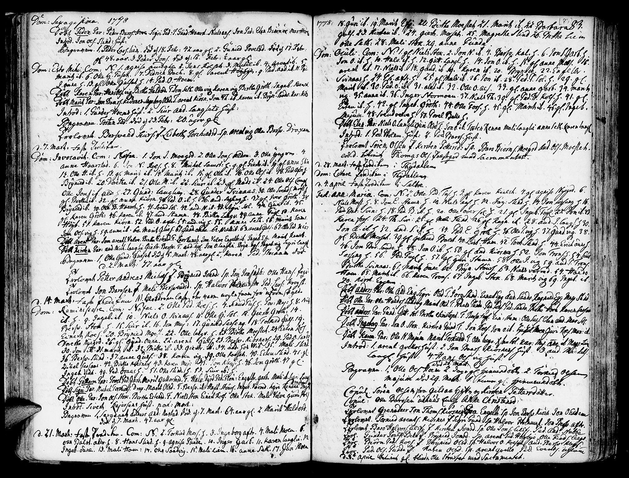 SAT, Ministerialprotokoller, klokkerbøker og fødselsregistre - Sør-Trøndelag, 695/L1138: Ministerialbok nr. 695A02 /1, 1757-1801, s. 86