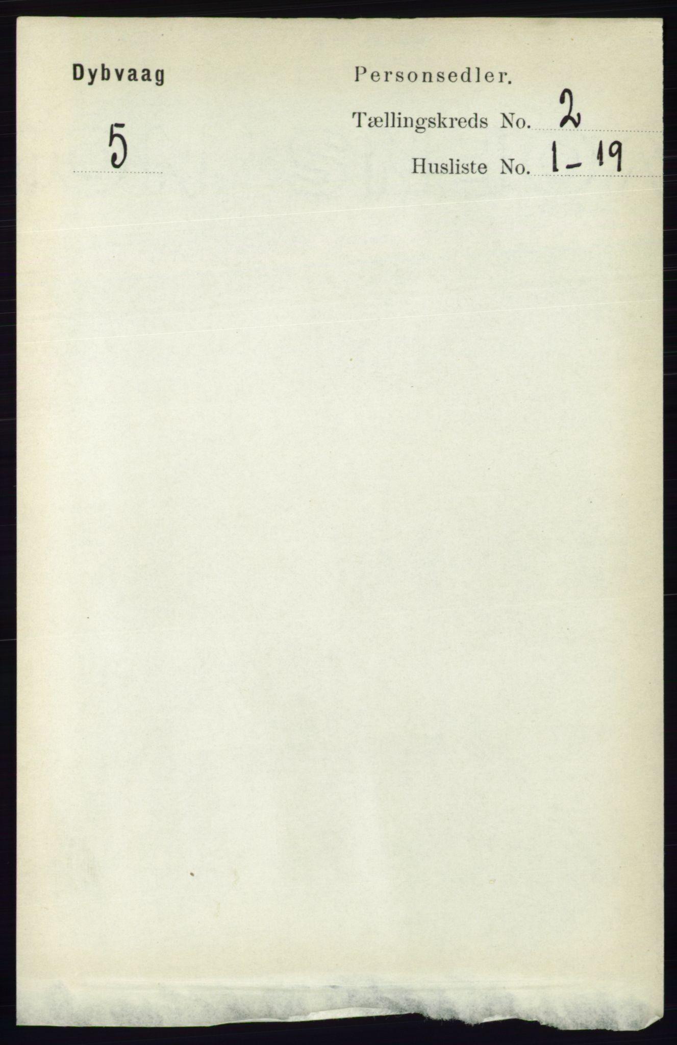 RA, Folketelling 1891 for 0915 Dypvåg herred, 1891, s. 513