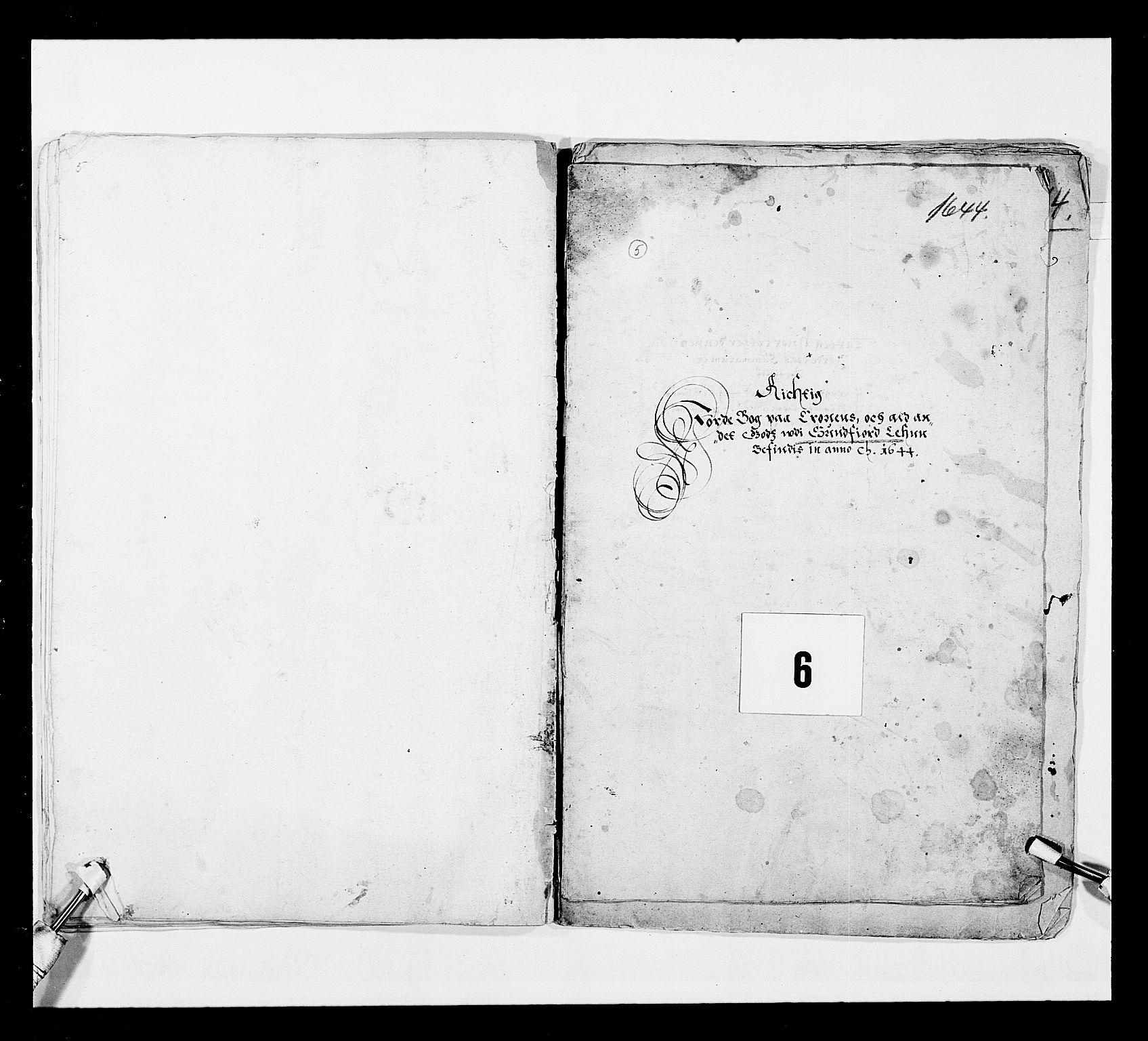 RA, Stattholderembetet 1572-1771, Ek/L0024: Jordebøker 1633-1658:, 1644, s. 41