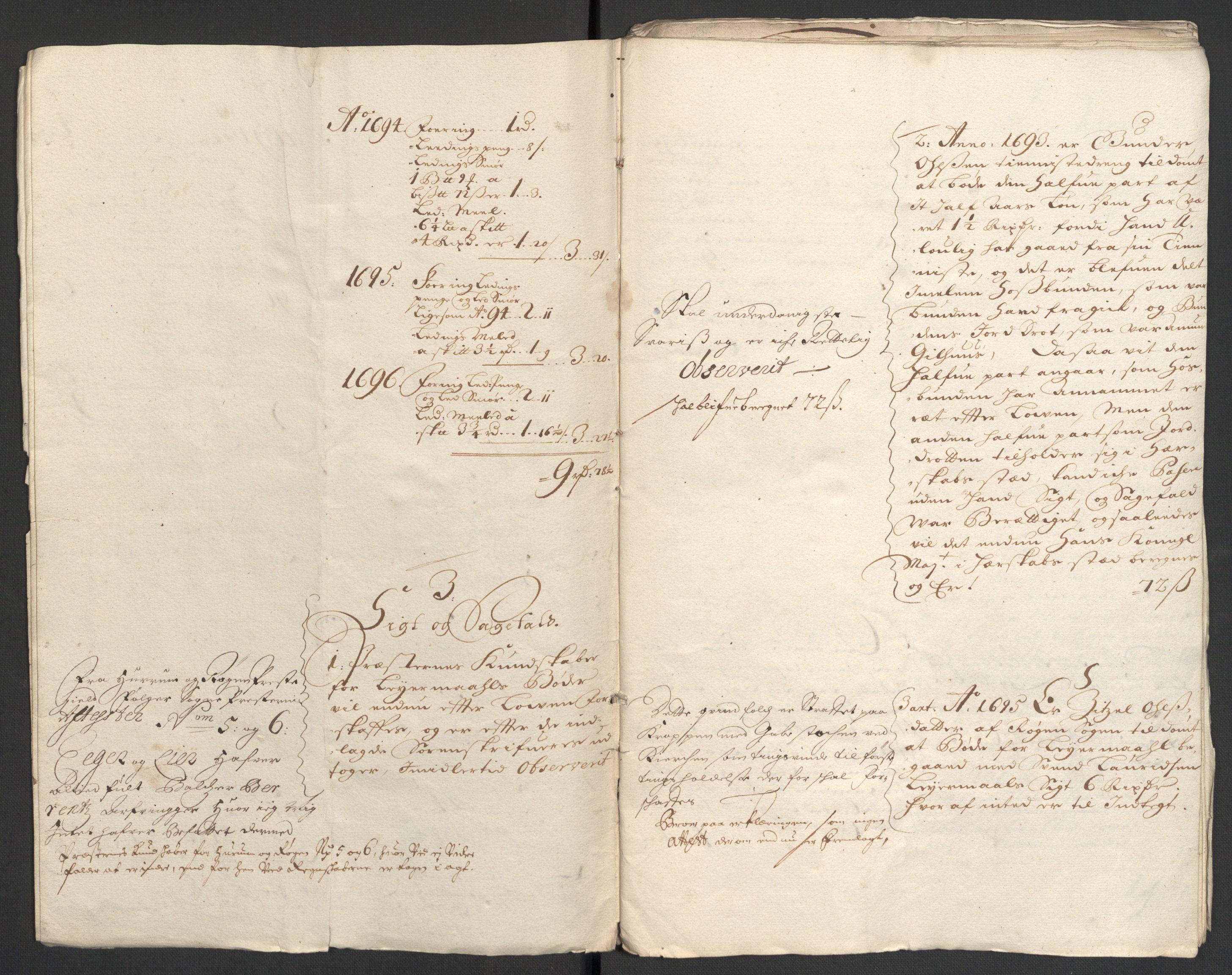 RA, Rentekammeret inntil 1814, Reviderte regnskaper, Fogderegnskap, R30/L1695: Fogderegnskap Hurum, Røyken, Eiker og Lier, 1697, s. 180