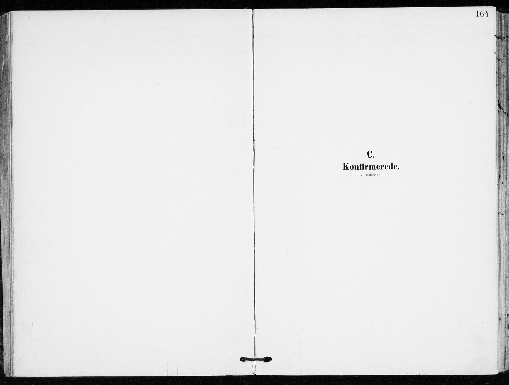 SAKO, Kongsberg kirkebøker, F/Fb/L0004: Ministerialbok nr. II 4, 1906-1918, s. 164