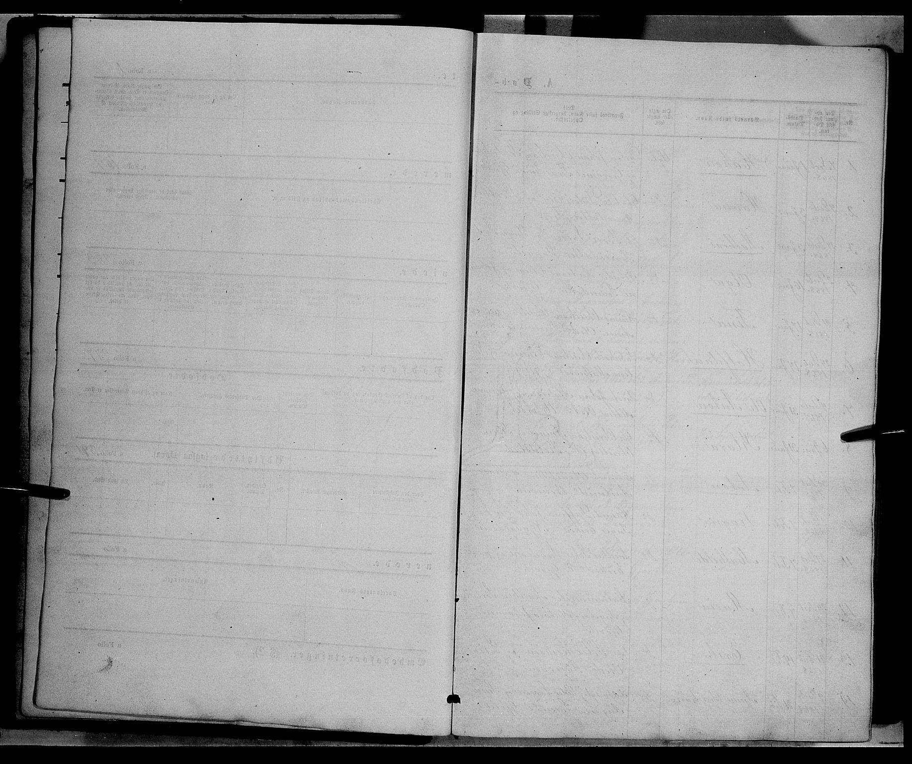 SAH, Vardal prestekontor, H/Ha/Hab/L0006: Klokkerbok nr. 6, 1869-1881