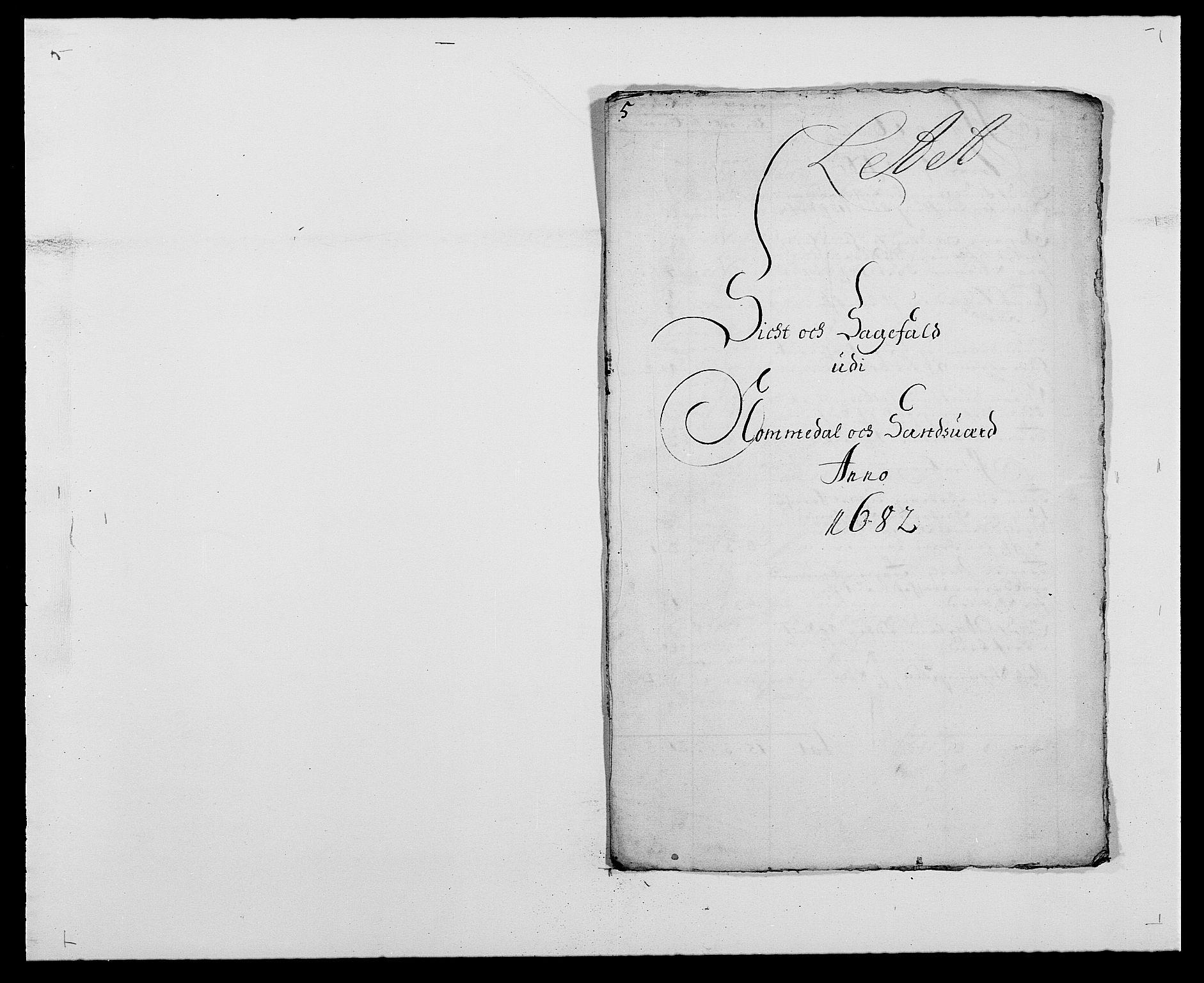 RA, Rentekammeret inntil 1814, Reviderte regnskaper, Fogderegnskap, R24/L1570: Fogderegnskap Numedal og Sandsvær, 1679-1686, s. 1