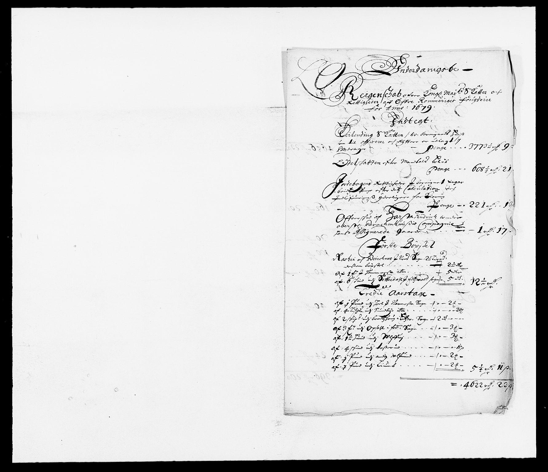 RA, Rentekammeret inntil 1814, Reviderte regnskaper, Fogderegnskap, R12/L0694: Fogderegnskap Øvre Romerike, 1678-1679, s. 27