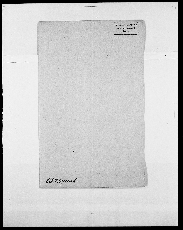 SAO, Delgobe, Charles Antoine - samling, D/Da/L0001: Aabye - Angerman, s. 215