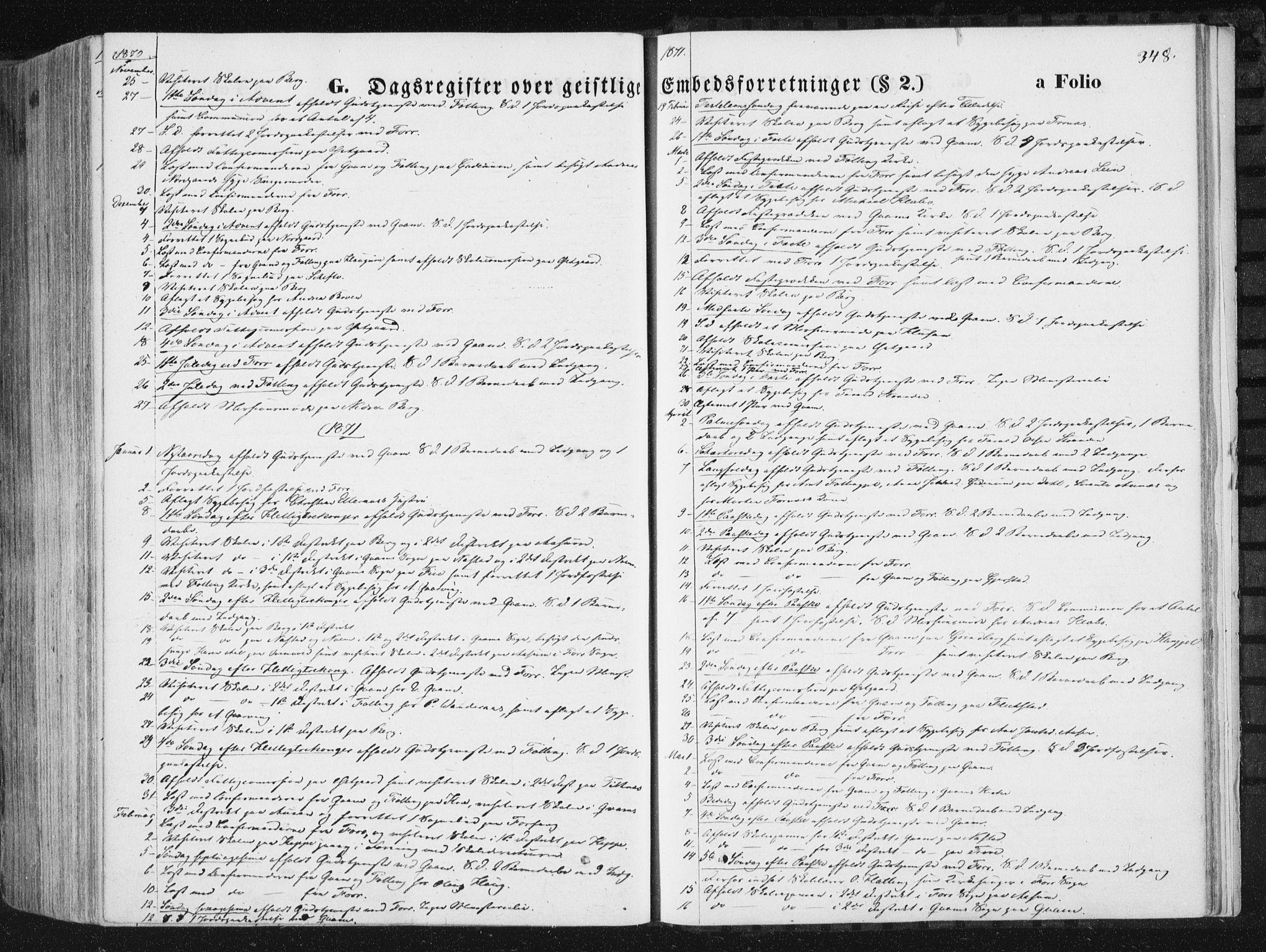 SAT, Ministerialprotokoller, klokkerbøker og fødselsregistre - Nord-Trøndelag, 746/L0447: Ministerialbok nr. 746A06, 1860-1877, s. 348