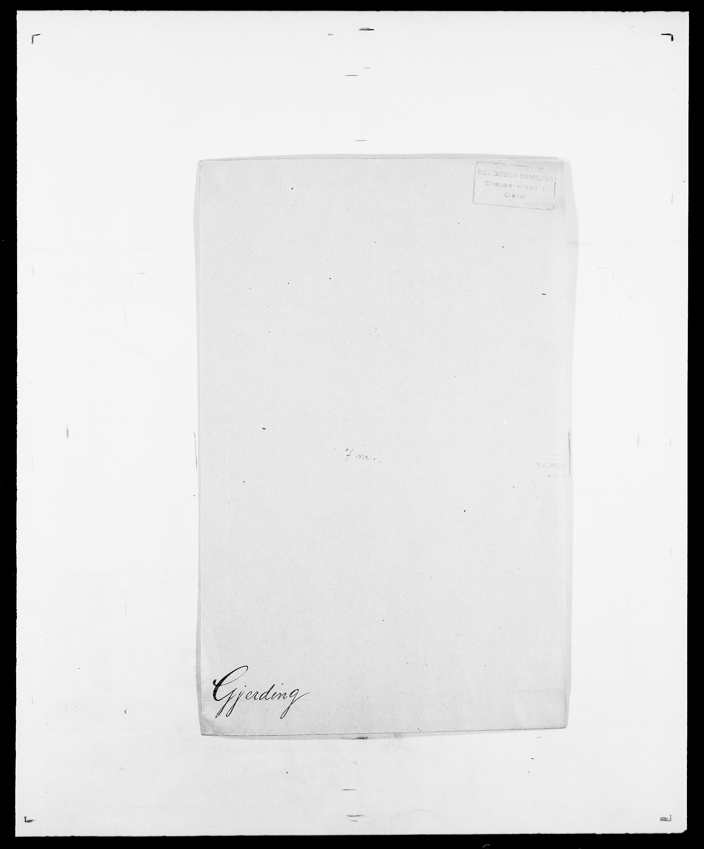 SAO, Delgobe, Charles Antoine - samling, D/Da/L0014: Giebdhausen - Grip, s. 107
