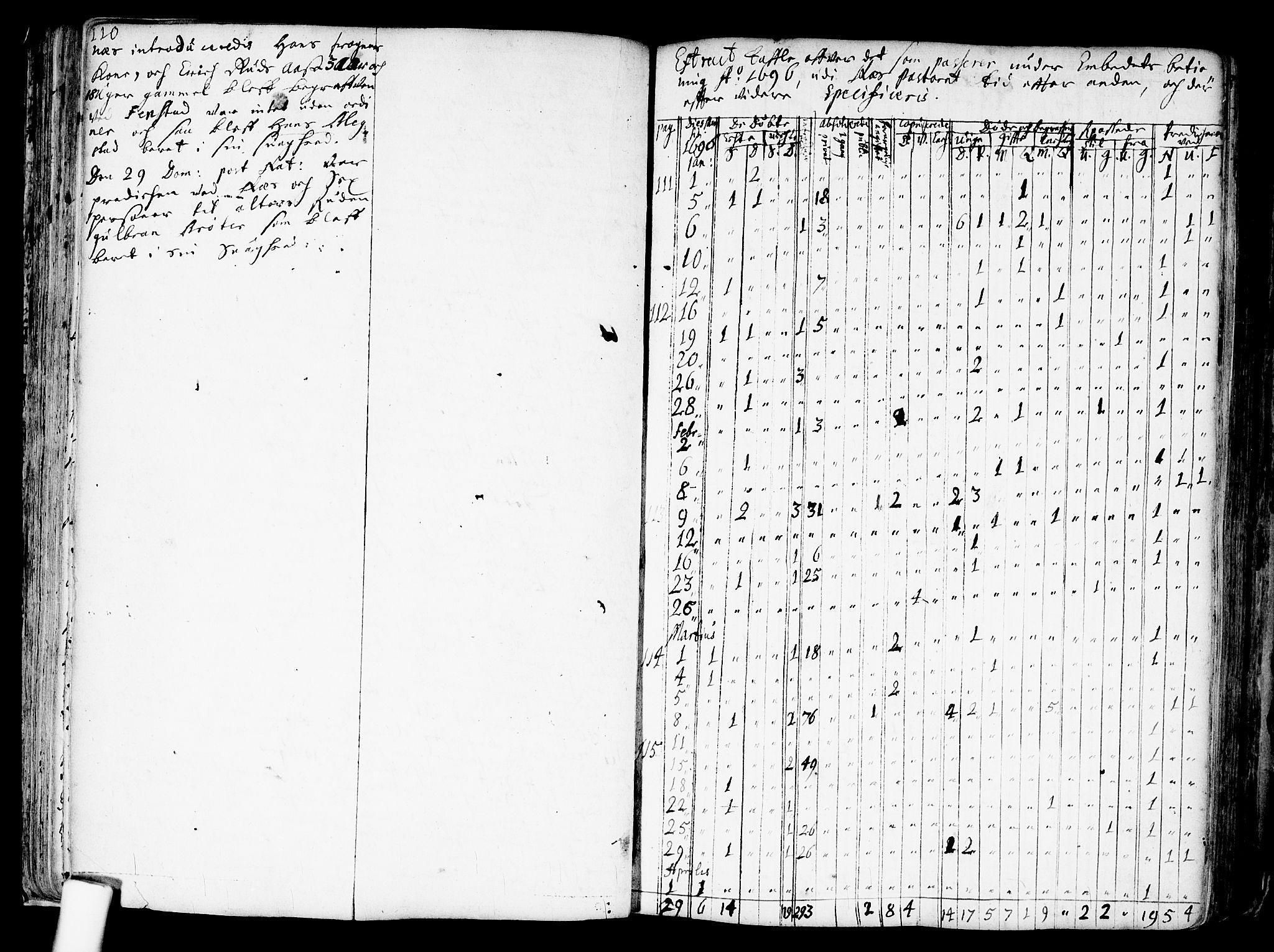 SAO, Nes prestekontor Kirkebøker, F/Fa/L0001: Ministerialbok nr. I 1, 1689-1716, s. 110a-110b