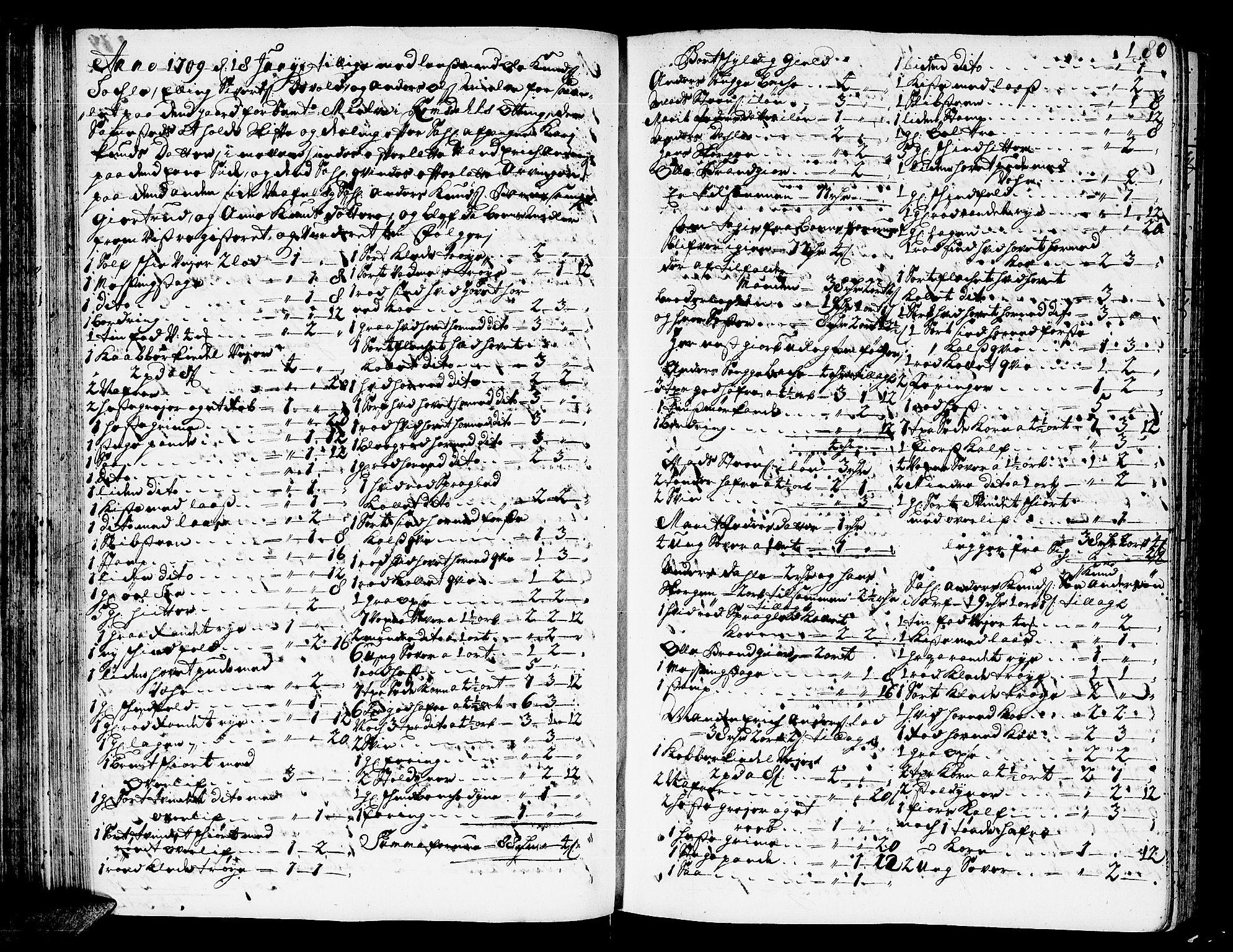 SAT, Romsdal sorenskriveri, 3/3A/L0005: Skifteprotokoll, 1707-1711, s. 179b-180a