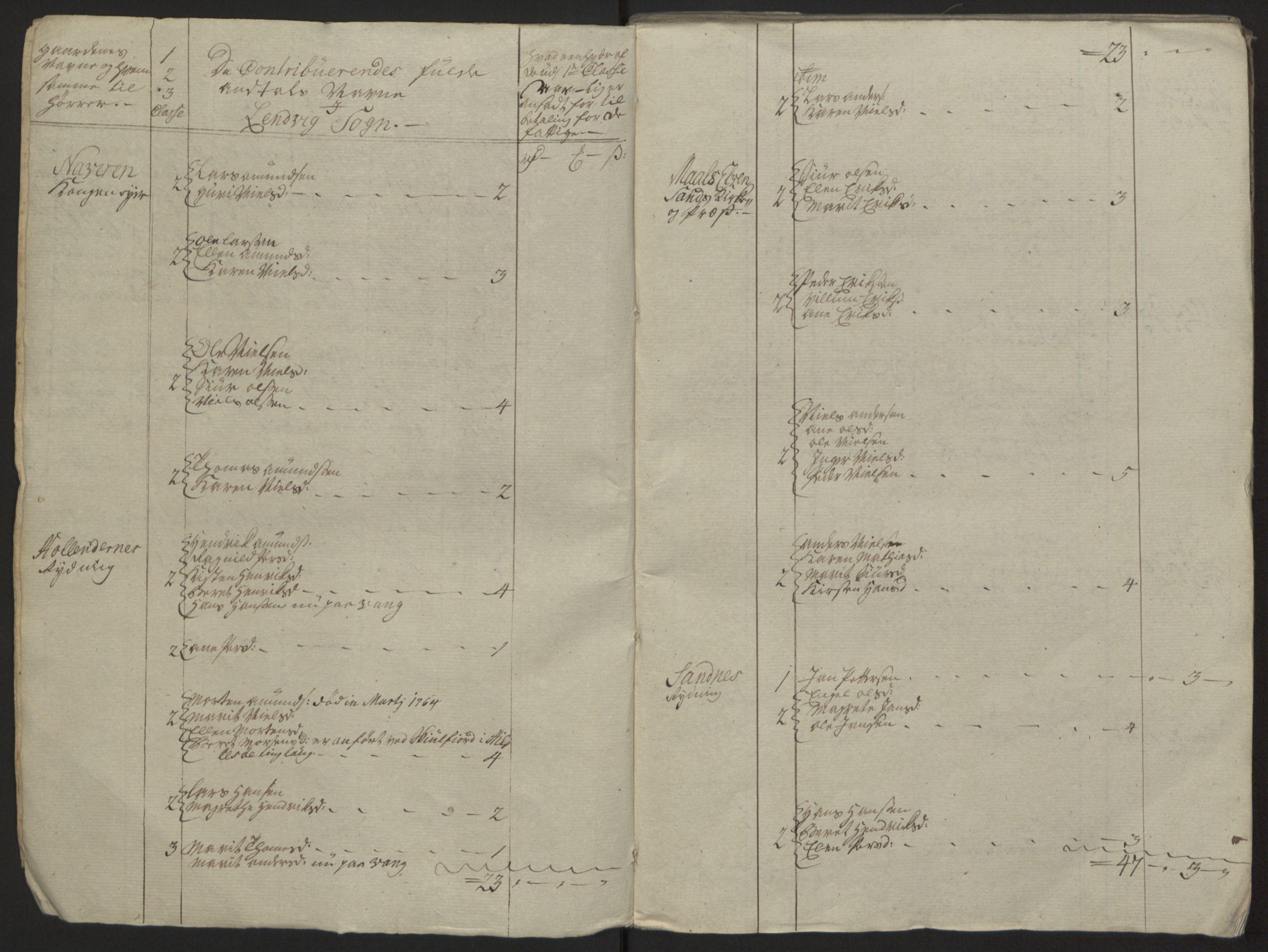 RA, Rentekammeret inntil 1814, Reviderte regnskaper, Fogderegnskap, R68/L4845: Ekstraskatten Senja og Troms, 1762-1765, s. 238