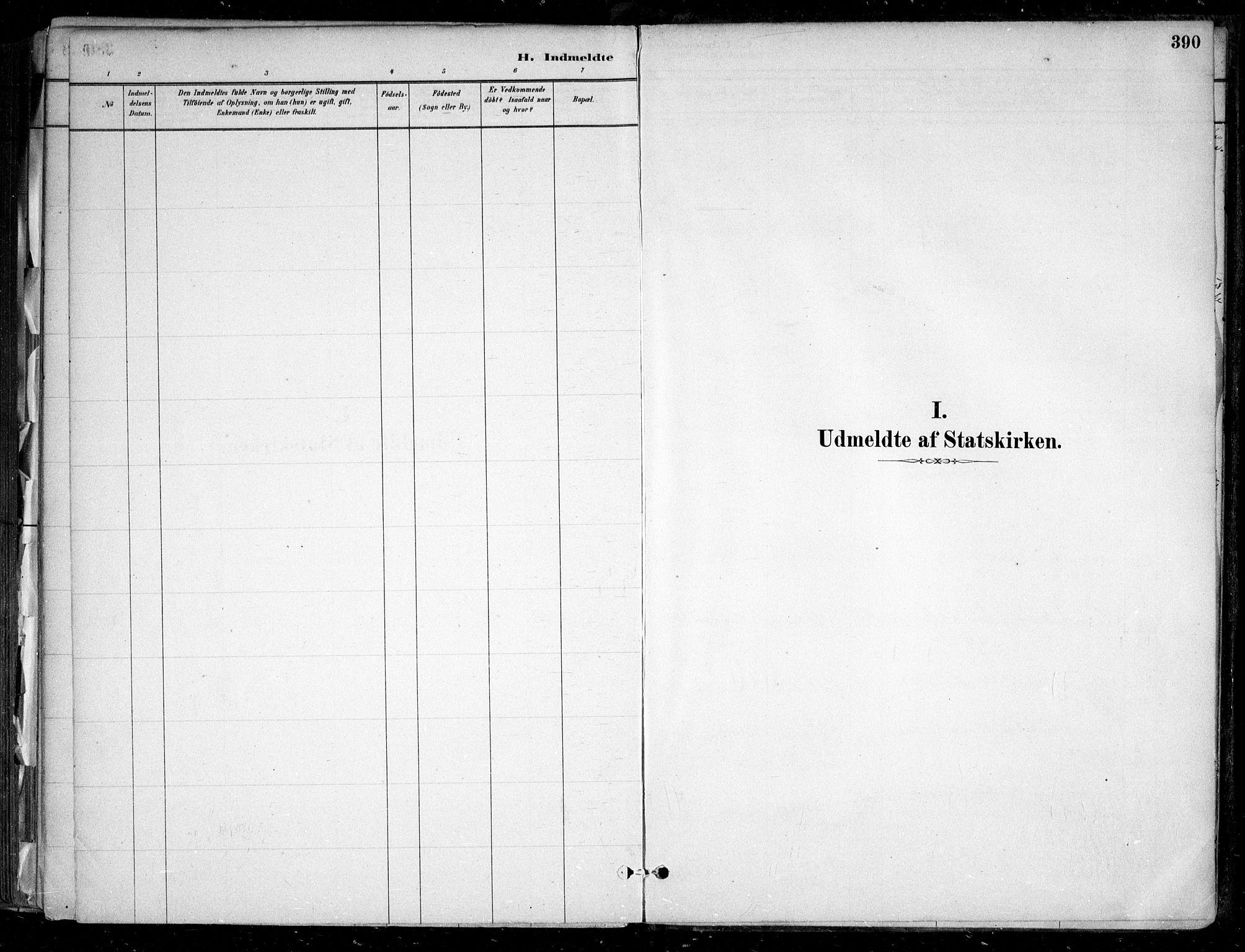 SAO, Nesodden prestekontor Kirkebøker, F/Fa/L0009: Ministerialbok nr. I 9, 1880-1915, s. 390