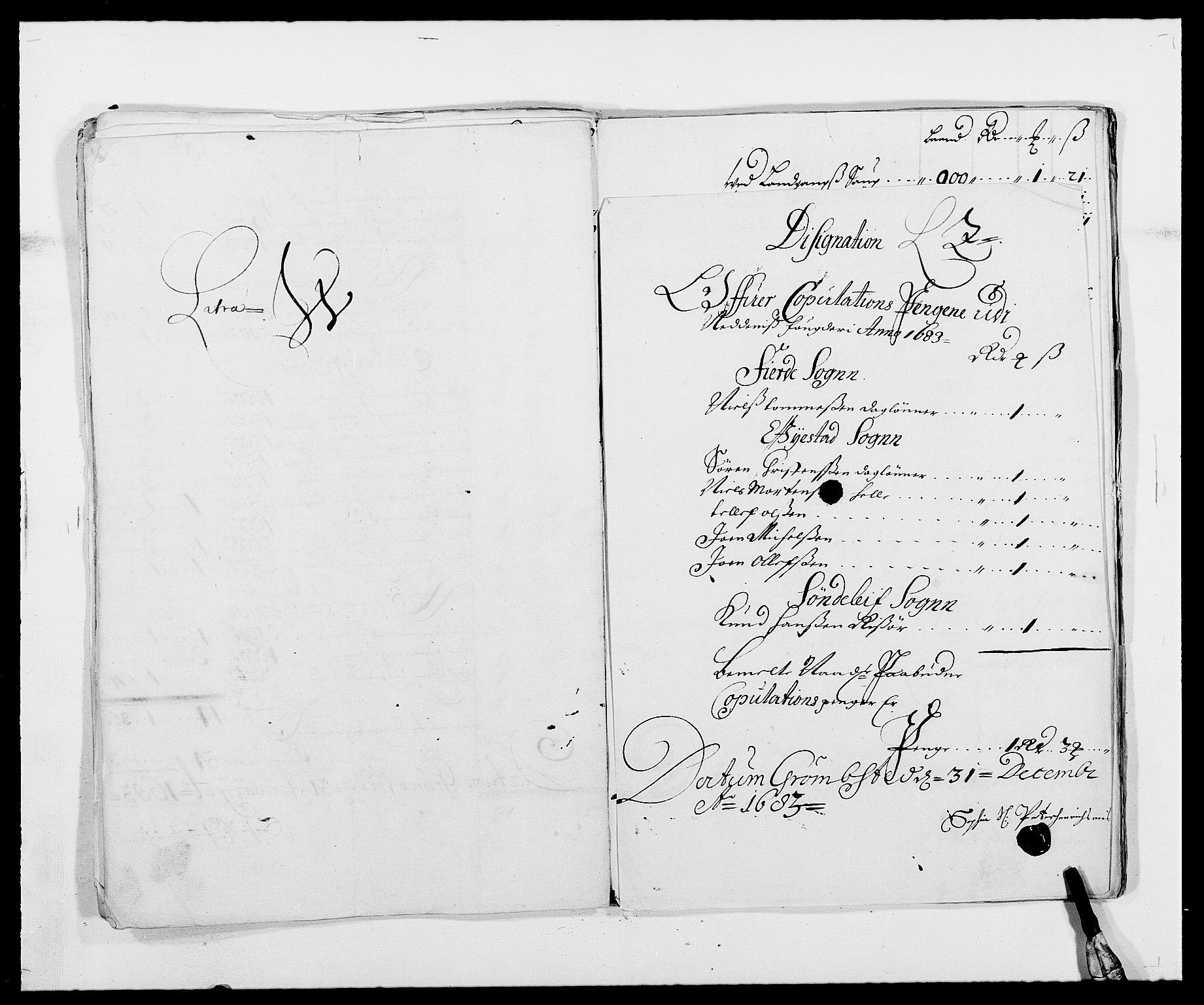 RA, Rentekammeret inntil 1814, Reviderte regnskaper, Fogderegnskap, R39/L2305: Fogderegnskap Nedenes, 1683, s. 223