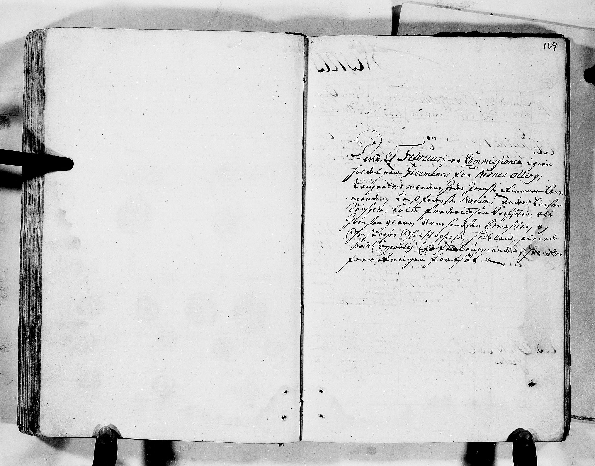 RA, Rentekammeret inntil 1814, Realistisk ordnet avdeling, N/Nb/Nbf/L0152: Romsdal eksaminasjonsprotokoll, 1724, s. 163b-164a