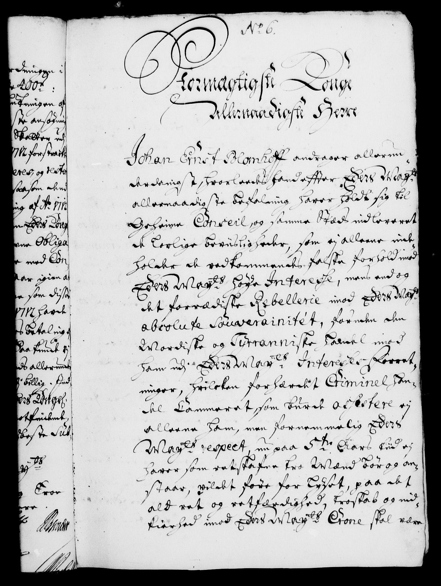 RA, Rentekammeret, Kammerkanselliet, G/Gf/Gfa/L0005: Norsk relasjons- og resolusjonsprotokoll (merket RK 52.5), 1722, s. 45