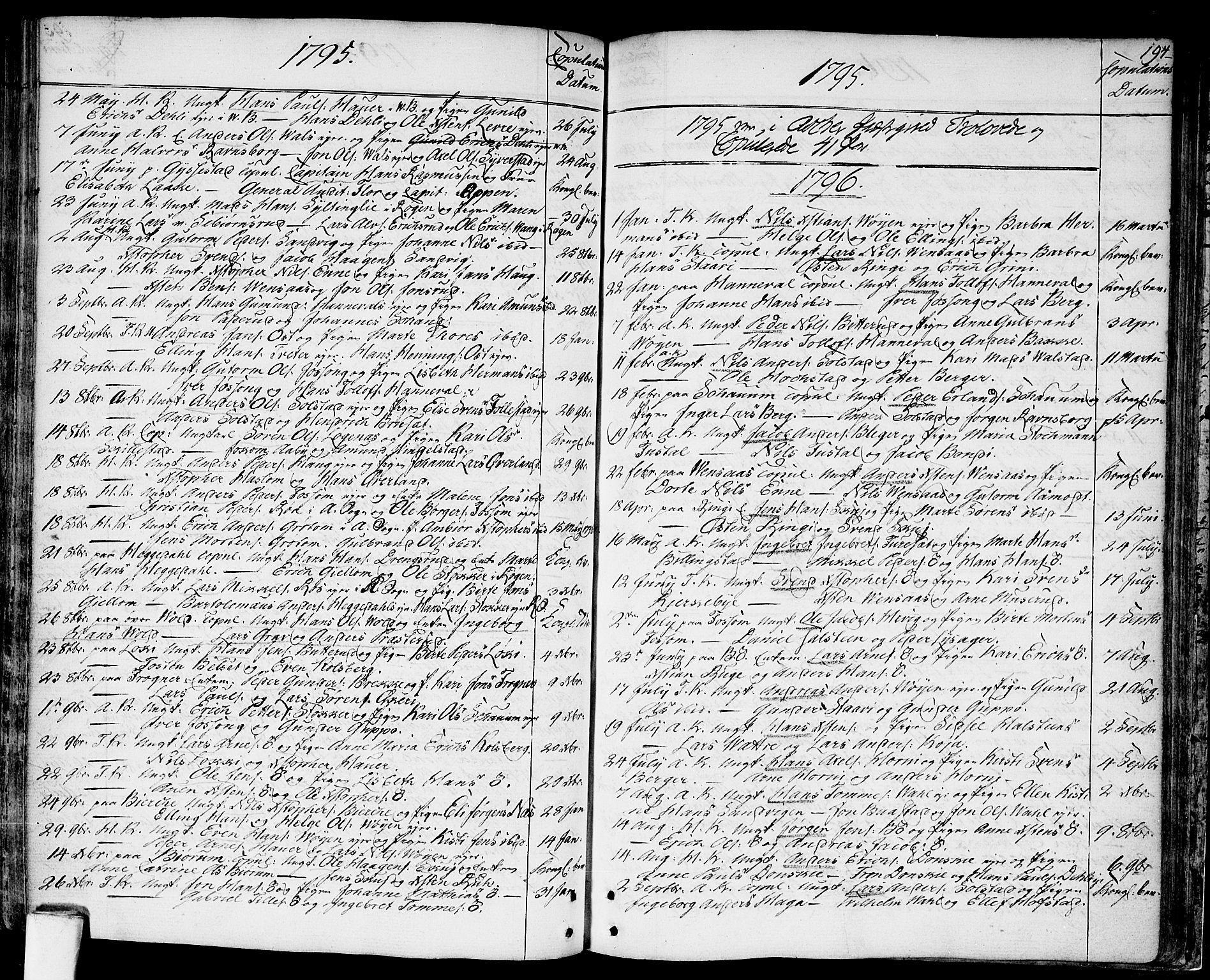 SAO, Asker prestekontor Kirkebøker, F/Fa/L0003: Ministerialbok nr. I 3, 1767-1807, s. 194