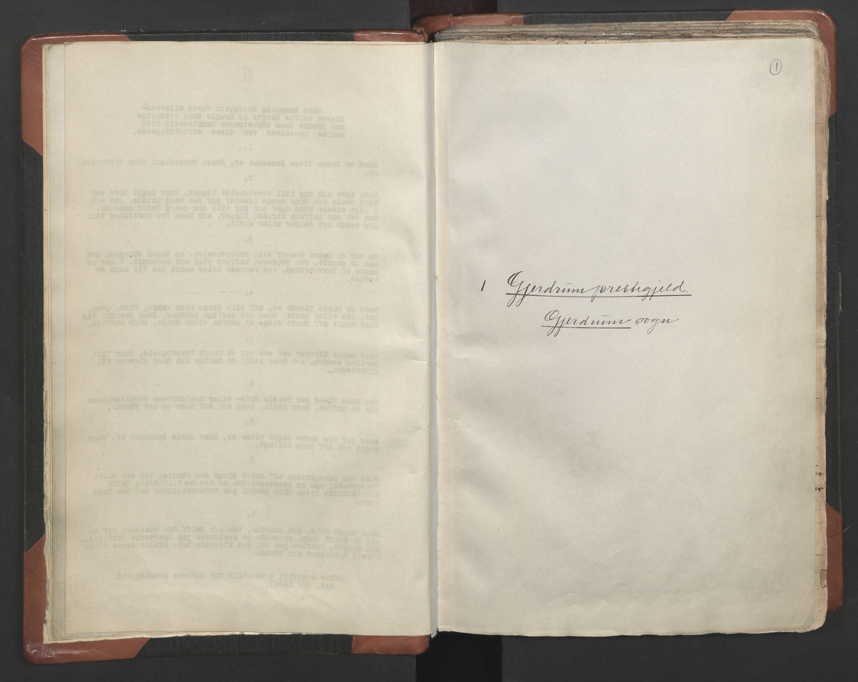 RA, Sogneprestenes manntall 1664-1666, nr. 4: Øvre Romerike prosti, 1664-1666, s. 1