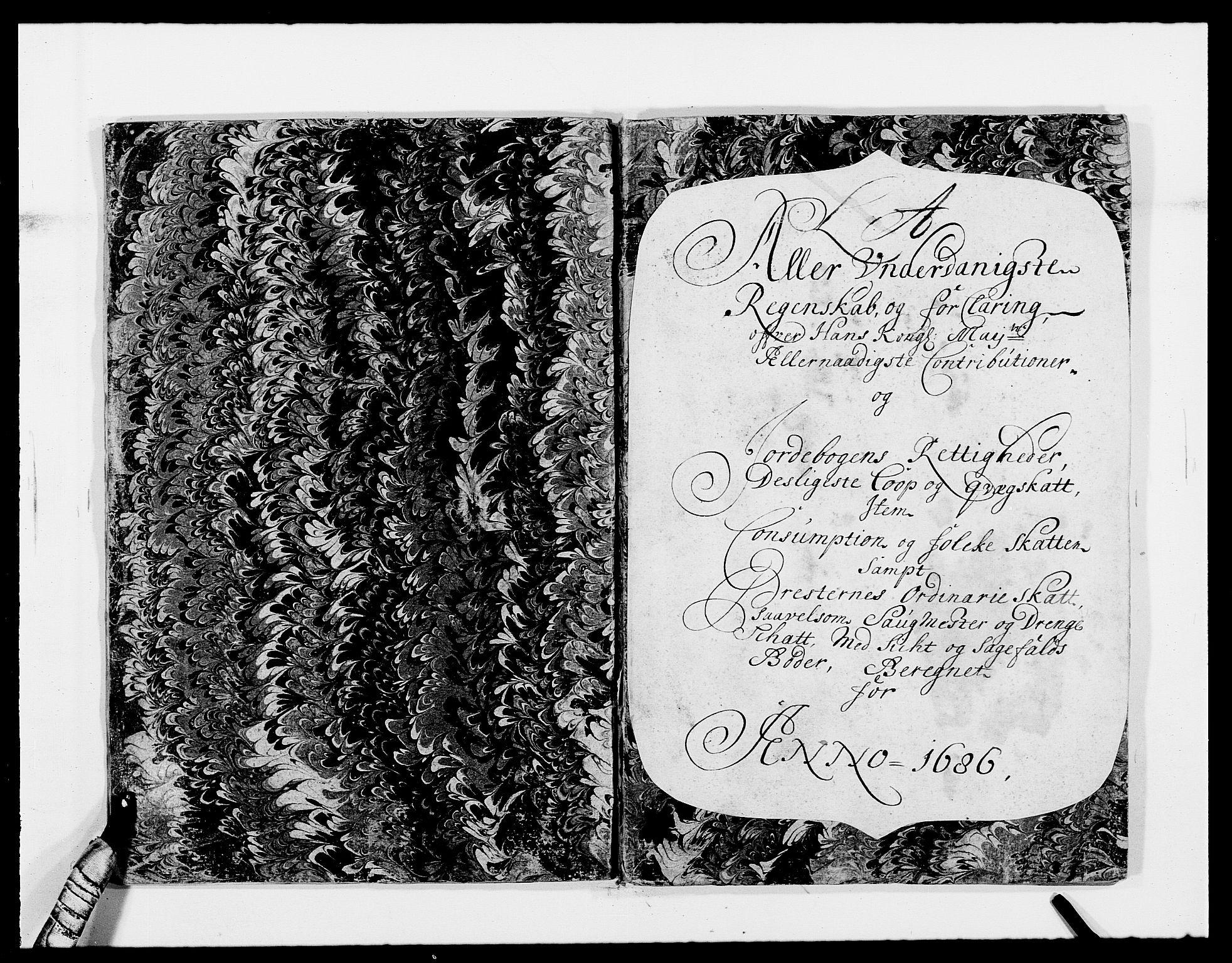 RA, Rentekammeret inntil 1814, Reviderte regnskaper, Fogderegnskap, R40/L2440: Fogderegnskap Råbyggelag, 1686-1687, s. 11